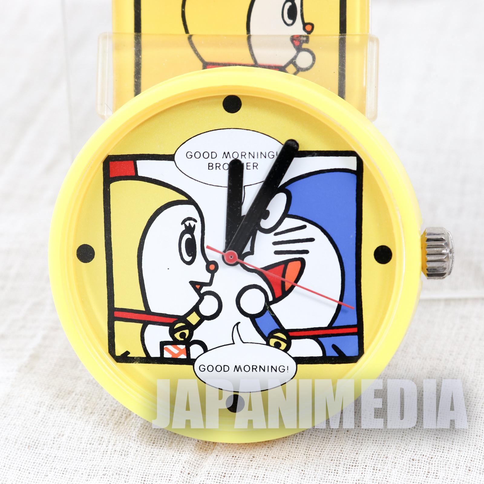 Doraemon Wrist Watch DRATCH Dorami Yellow ver. JAPAN ANIME FUJIKO FUJIO