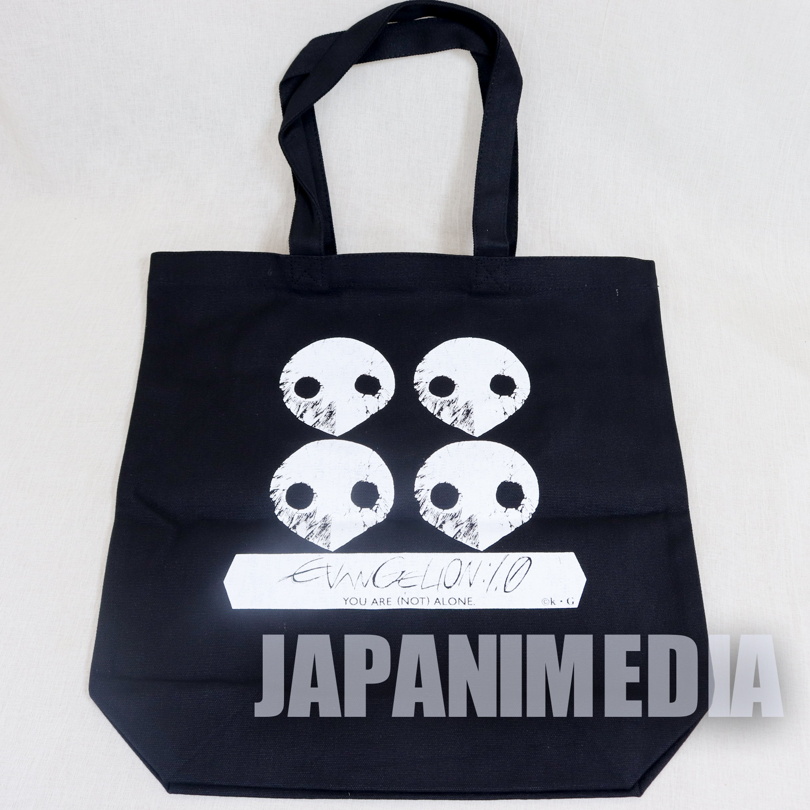 Evangelion Angel Shito Sachiel Tote Bag 14 x 14 inch JAPAN ANIMATE