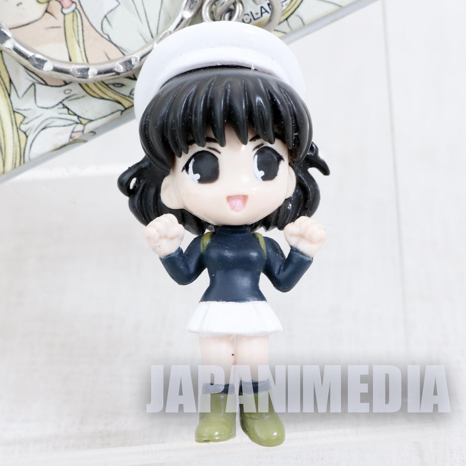 Chobits Yumi Omura Figure Keychain CLAMP JAPAN ANIME MANGA