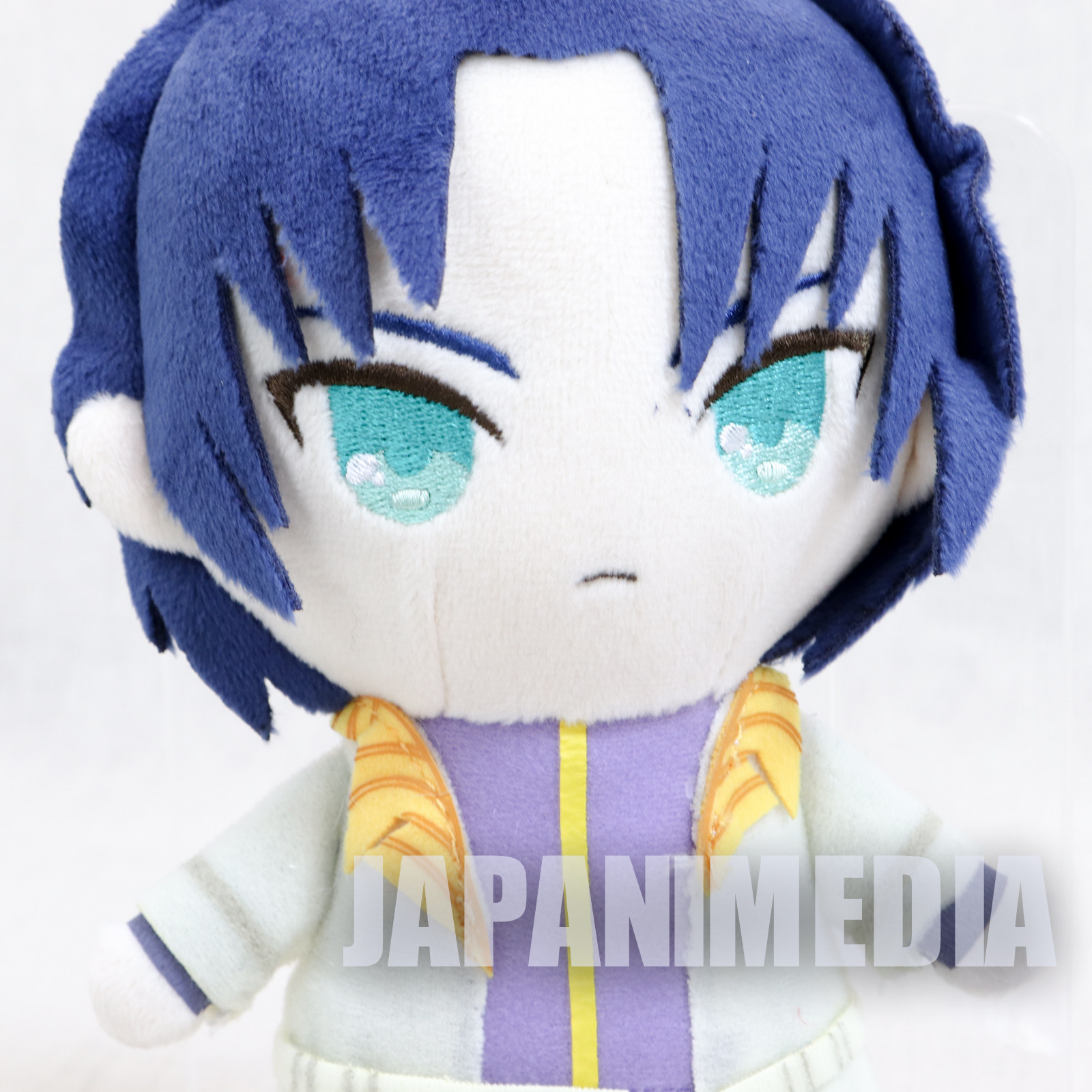 Rurouni Kenshin Aoshi Shinomori Plush Doll Sunrise JAPAN ANIME