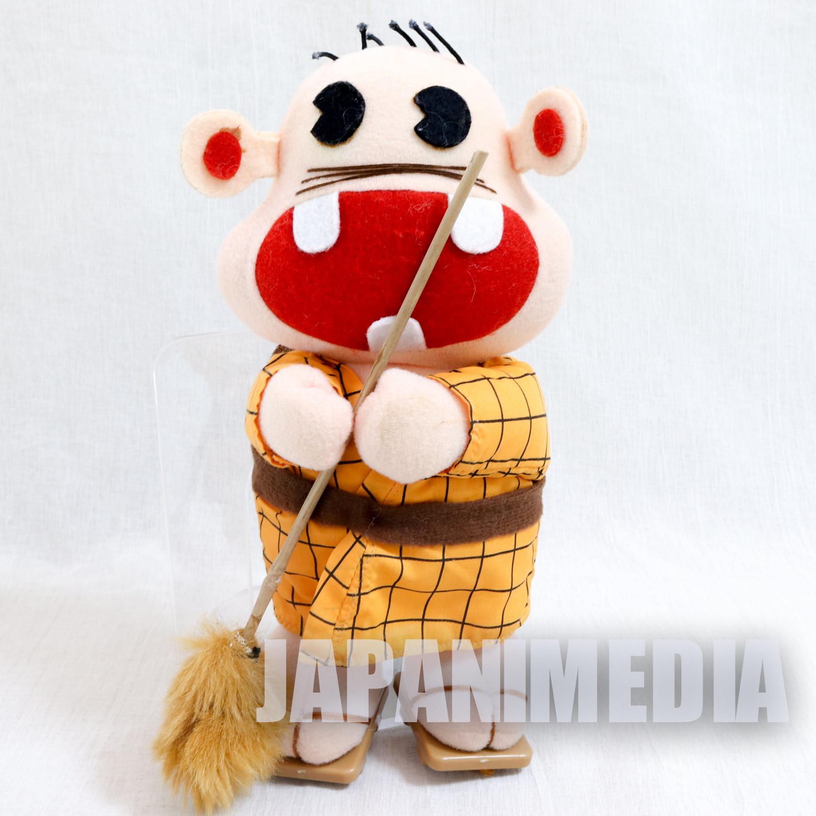 Genius Tensai Bakabon Rerere no Ojisan Plush Doll Fujio Akatsuka JAPAN