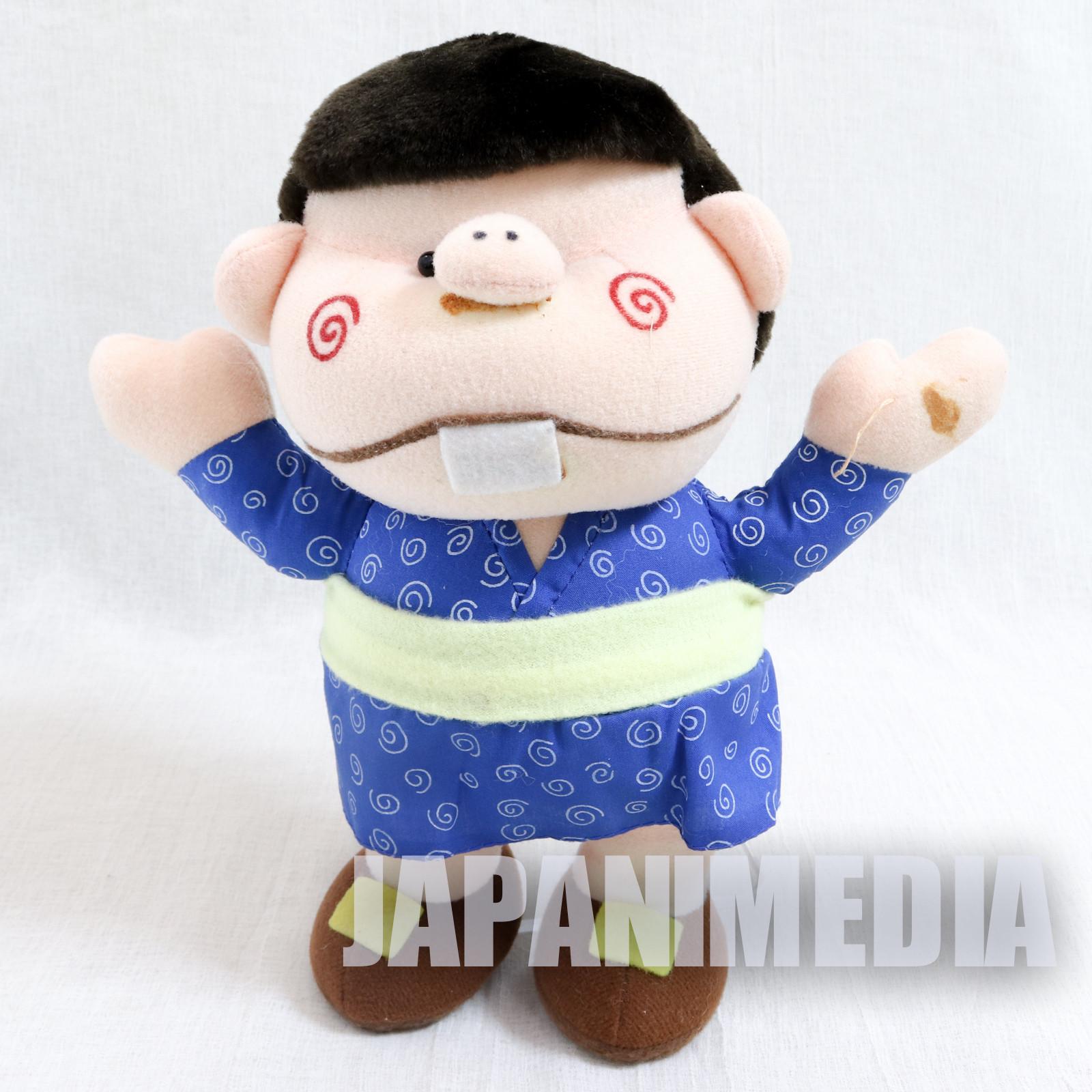 Genius Tensai Bakabon Plush Doll Fujio Akatsuka JAPAN