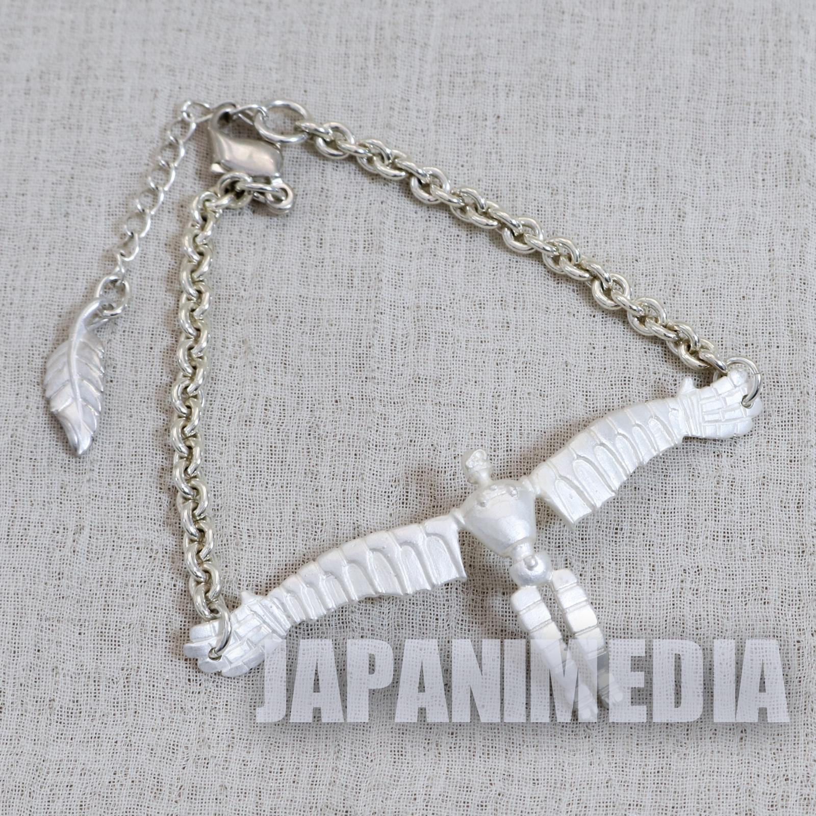 Laputa : Castle in the Sky Robot Soldier White Silver Bracelet JAPAN ANIME