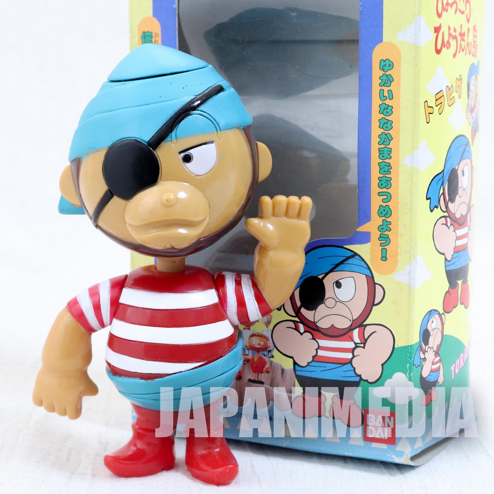 RARE! Hyokkori Hyotanjima Torahige Soft Vinyl Figure BANDAI JAPAN