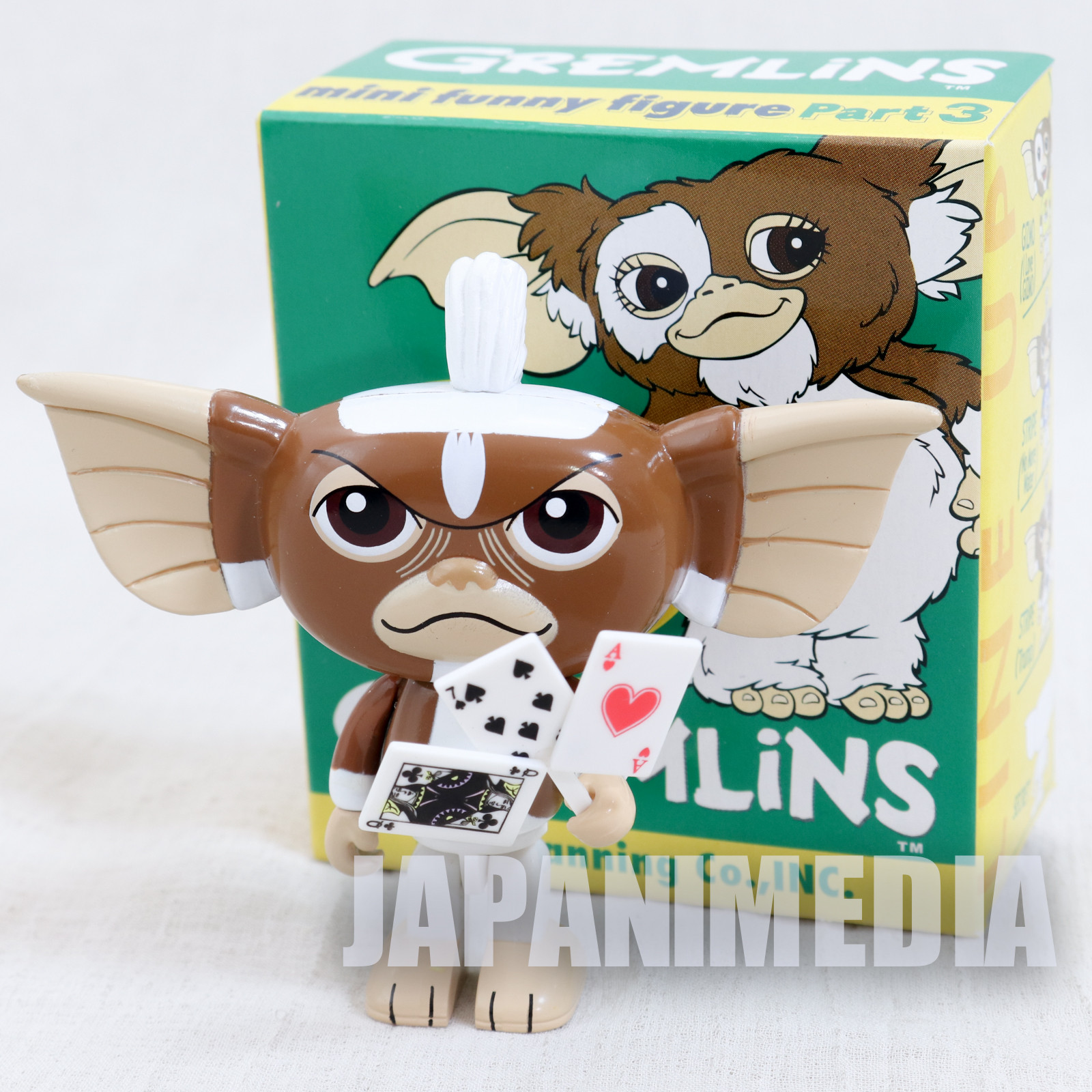 Gremlins 2 Jun Planning Mini Funny Figure Part.3 Stripe Trump Ver. JAPAN