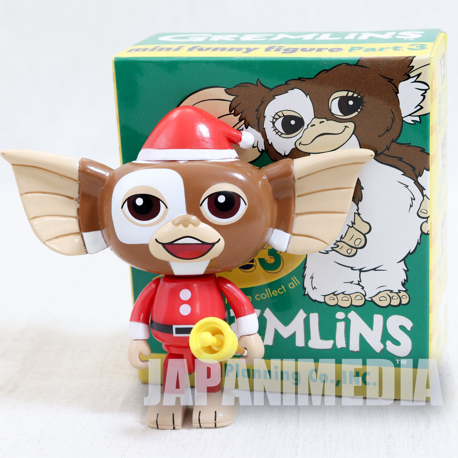 Gremlins 2 Jun Planning Mini Funny Figure Part.3 Gizmo Santa Ver. JAPAN