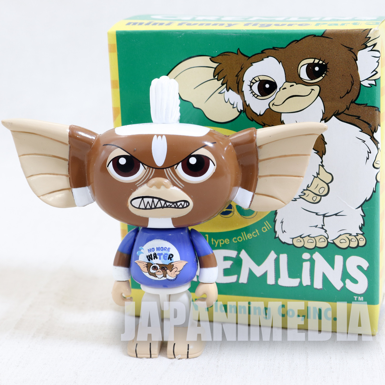 Gremlins 2 Jun Planning Mini Funny Figure Part.3 Stripe No More Water Ver. JAPAN