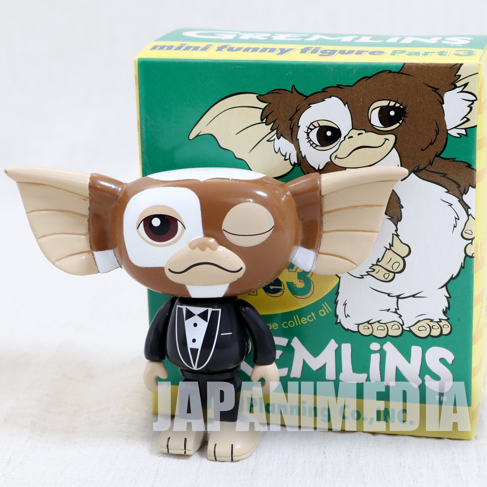Gremlins 2 Jun Planning Mini Funny Figure Part.3 Gizmo Tuxedo Ver. JAPAN
