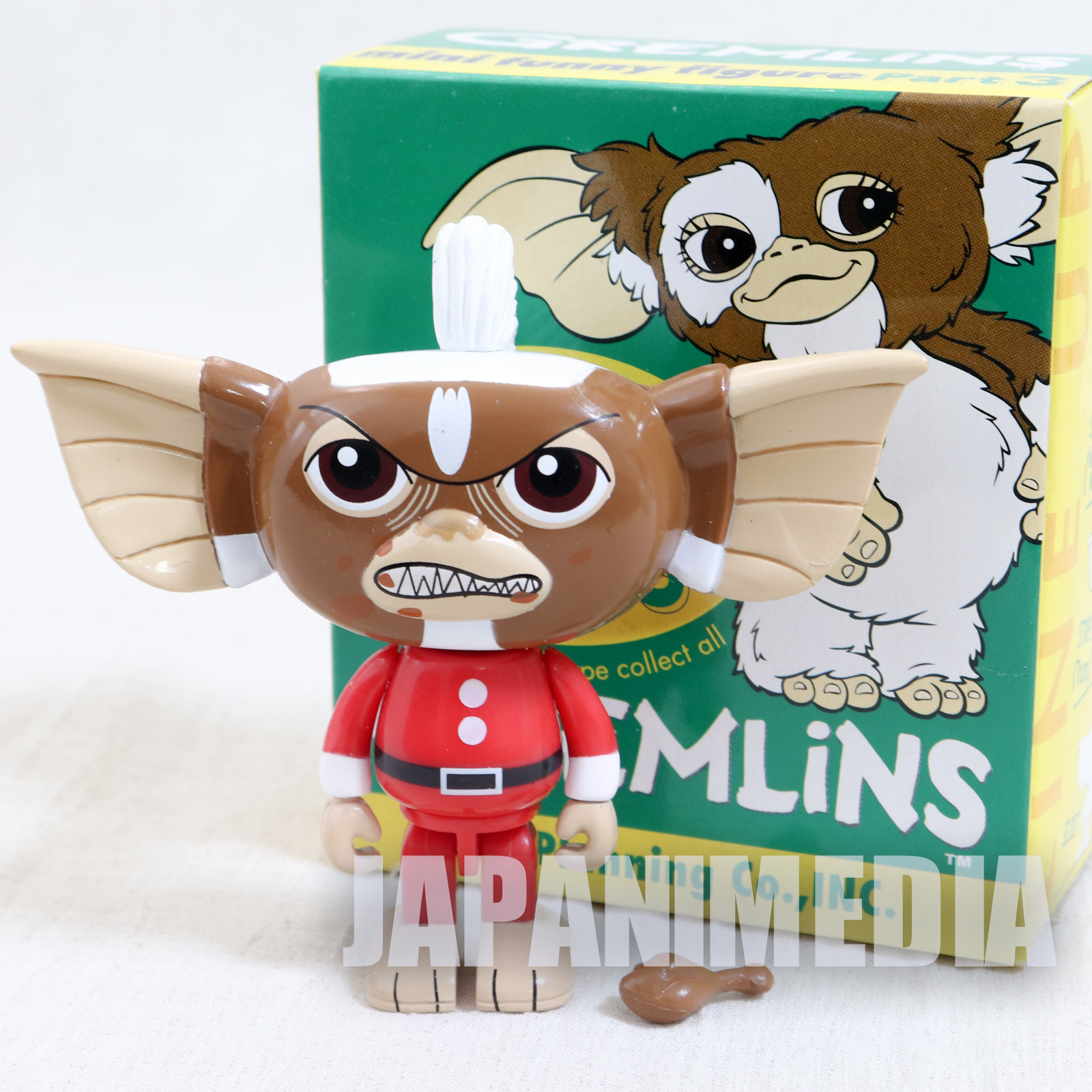 Gremlins 2 Jun Planning Mini Funny Figure Part.3 Stripe Chicken Santa Ver. JAPAN