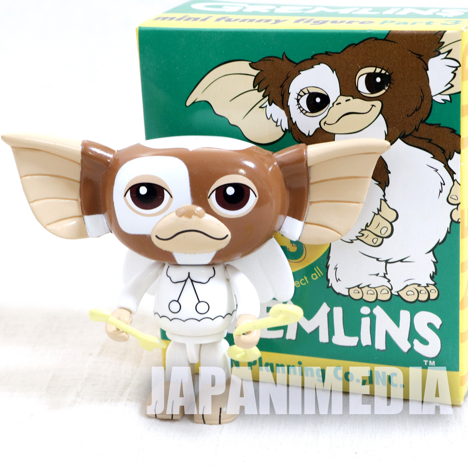 Gremlins 2 Jun Planning Mini Funny Figure Part.3 Gizmo Secret Angel Ver. JAPAN
