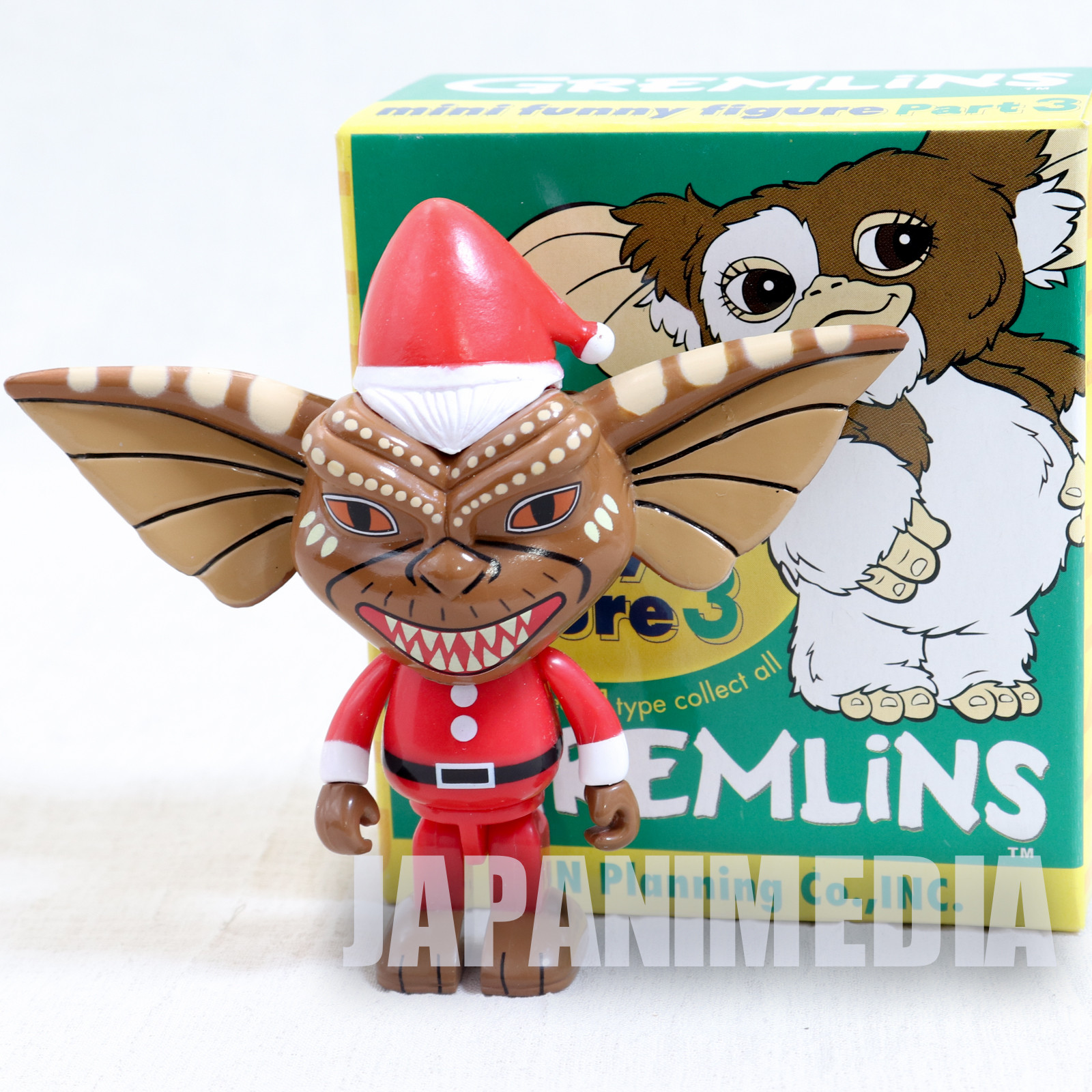 Gremlins 2 Jun Planning Mini Funny Figure Part.3 Stripe Santa Ver. JAPAN