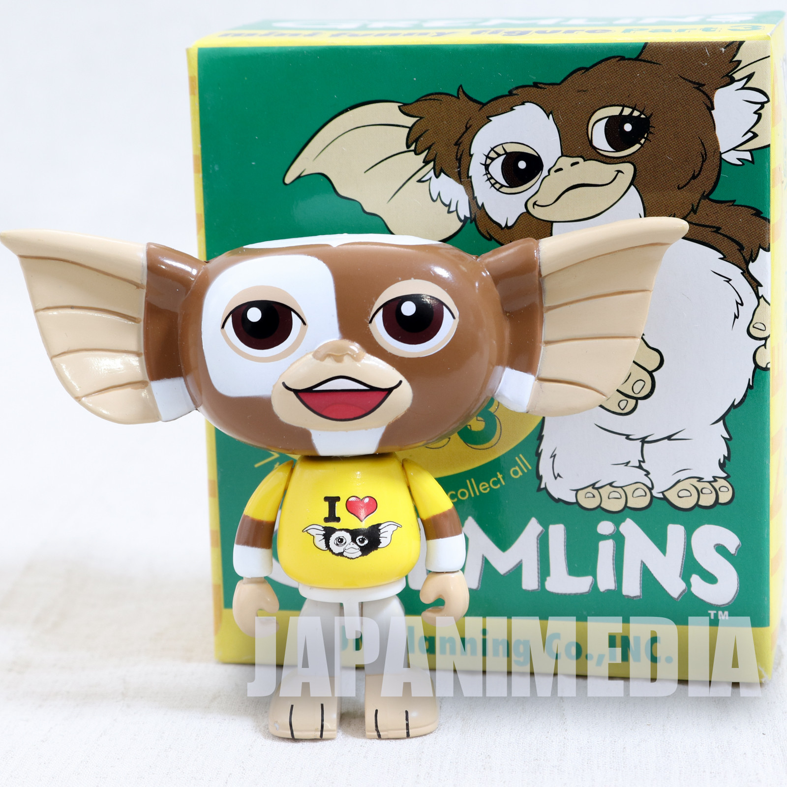 Gremlins 2 Jun Planning Mini Funny Figure Part.3 Gizmo I Live Gizmo Ver. JAPAN