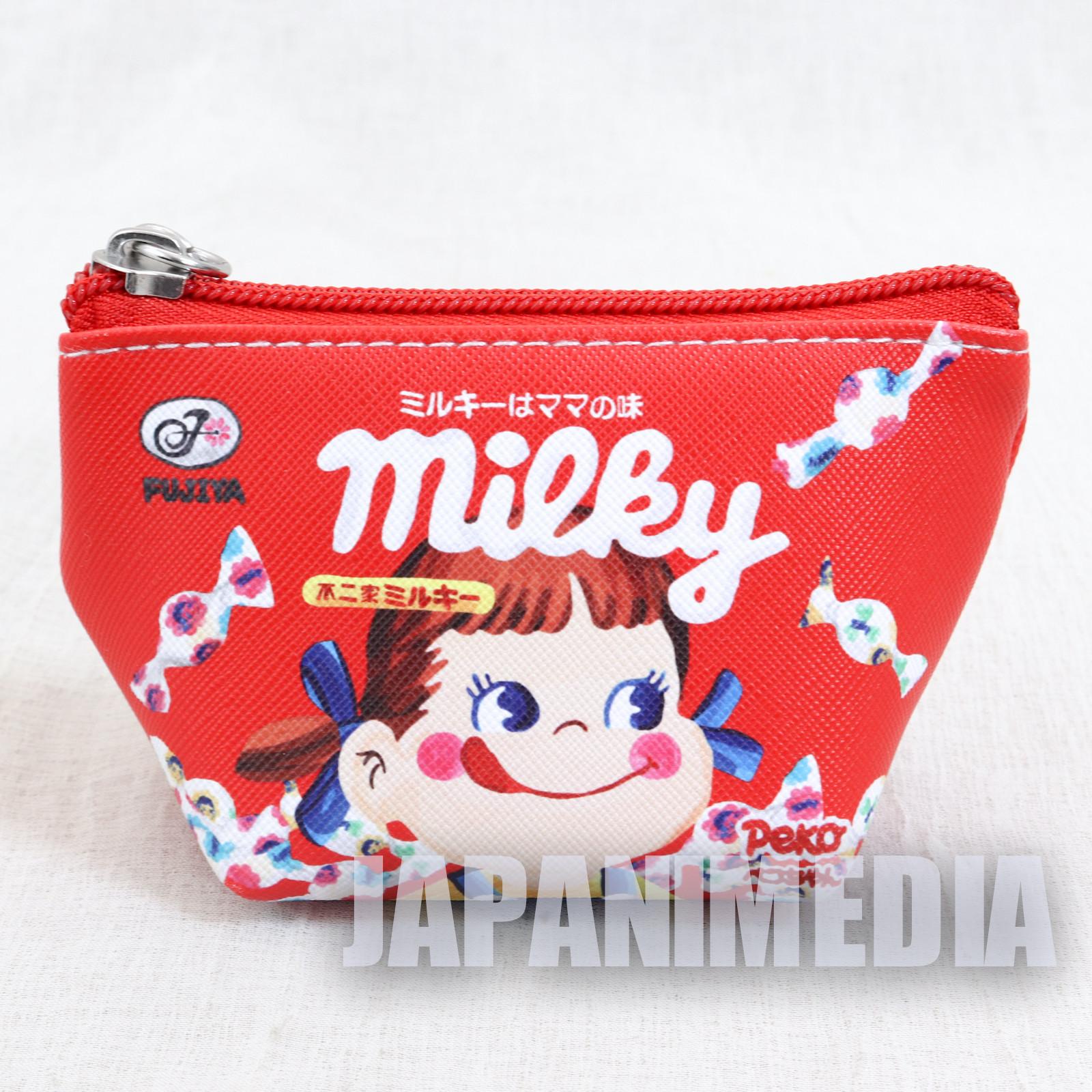Milky Candy Peko-chan Petit Pouch Bag FUJIYA JAPAN
