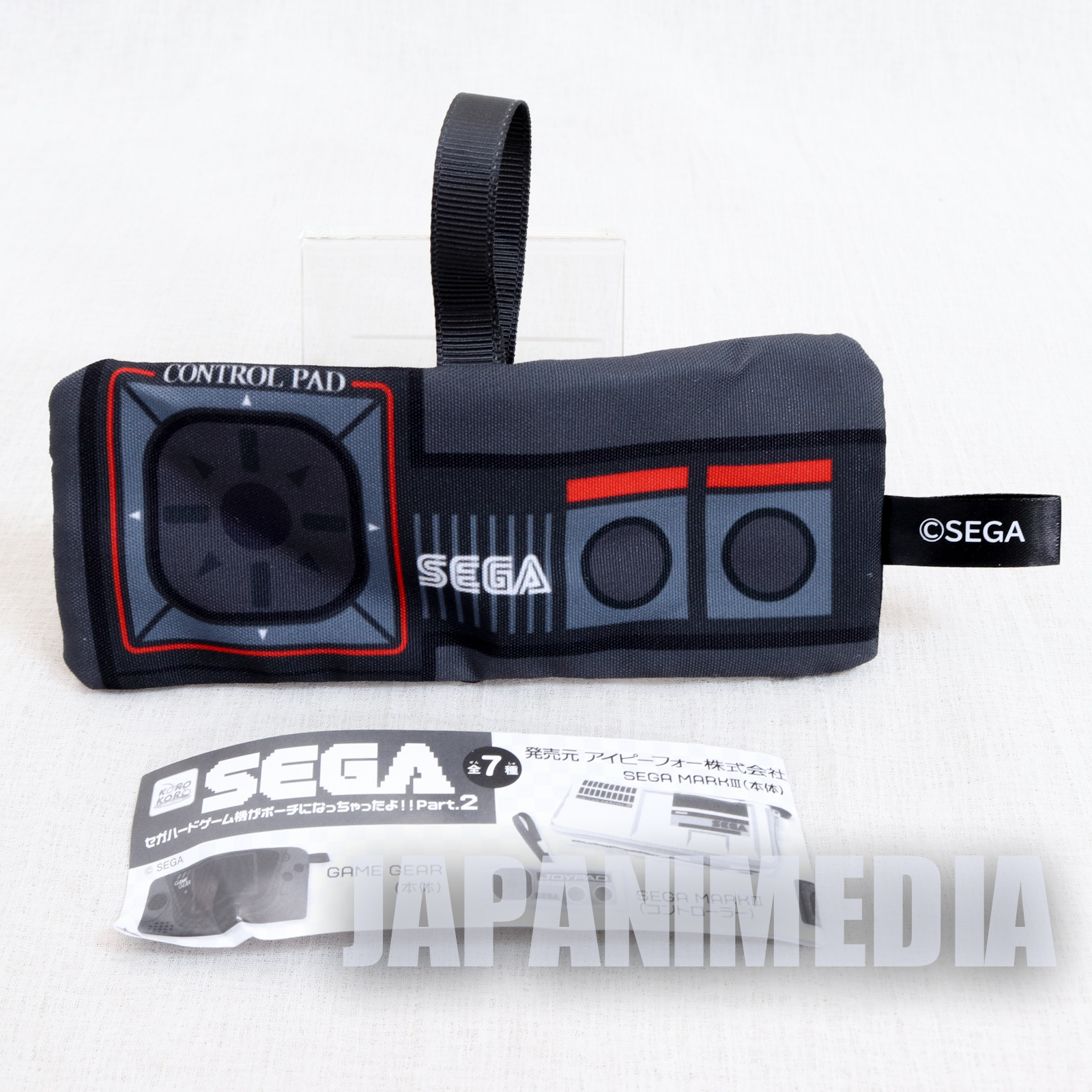 Master System Controller SEGA Game Console Machine Type Pouch Case JAPAN GAME