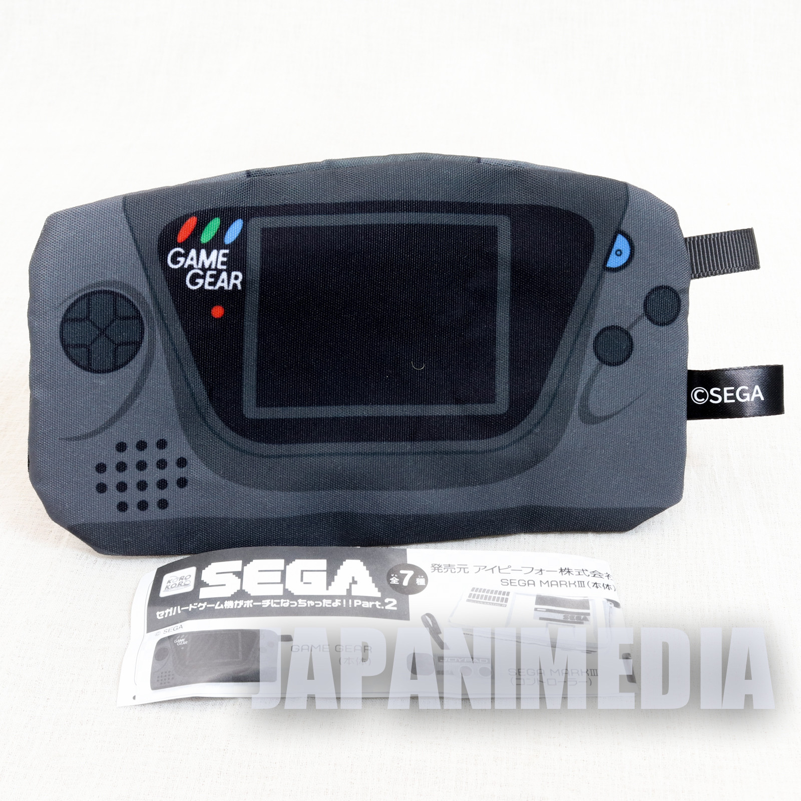 Game Gear SEGA Game Console Machine Type Pouch Case JAPAN GAME