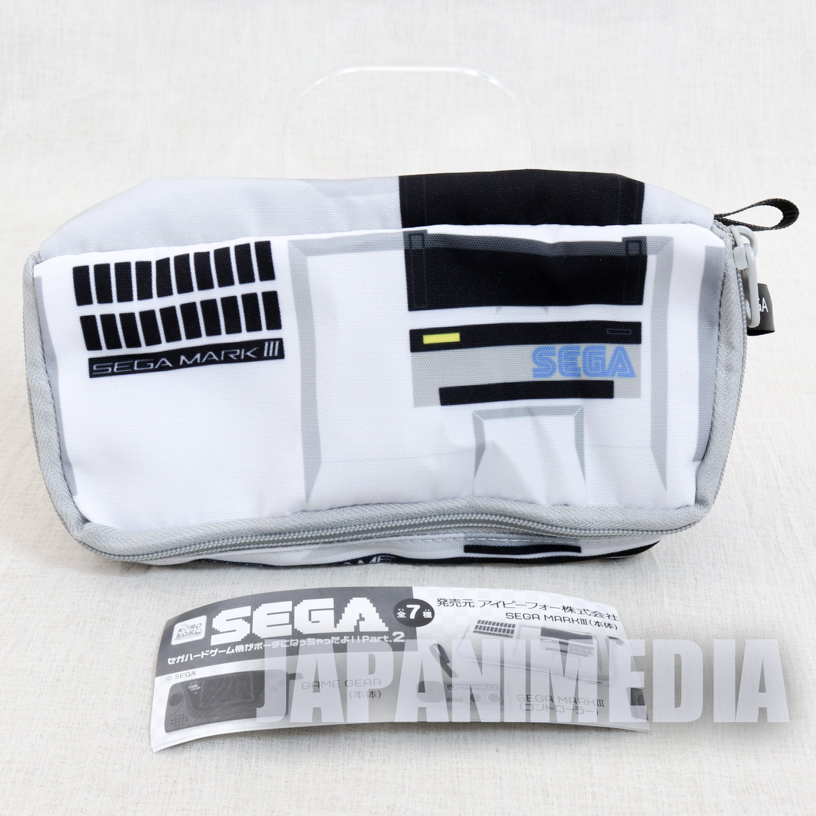 Mark III SEGA Game Console Machine Type Pouch Case JAPAN GAME
