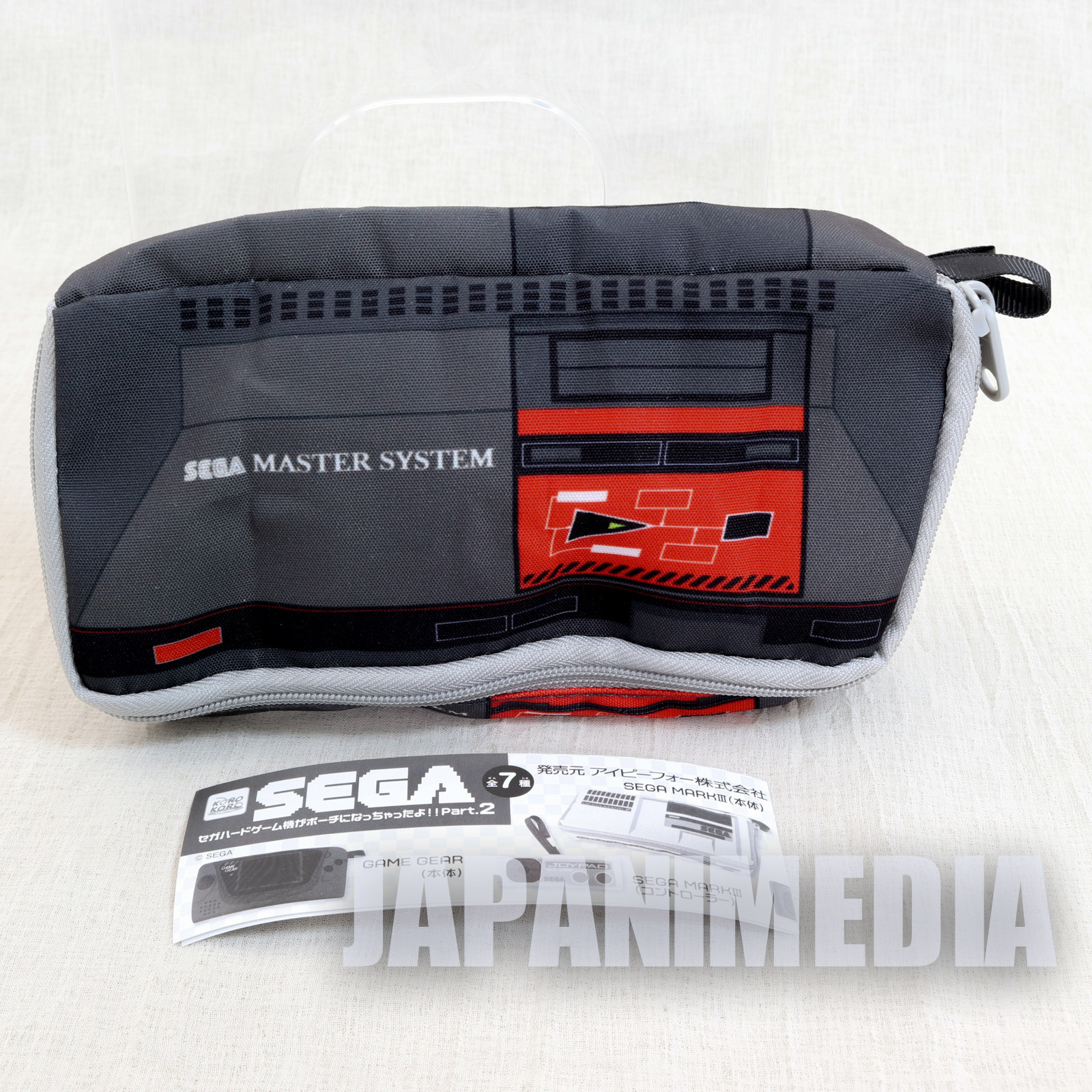 Master System SEGA Game Console Machine Type Pouch Case JAPAN GAME