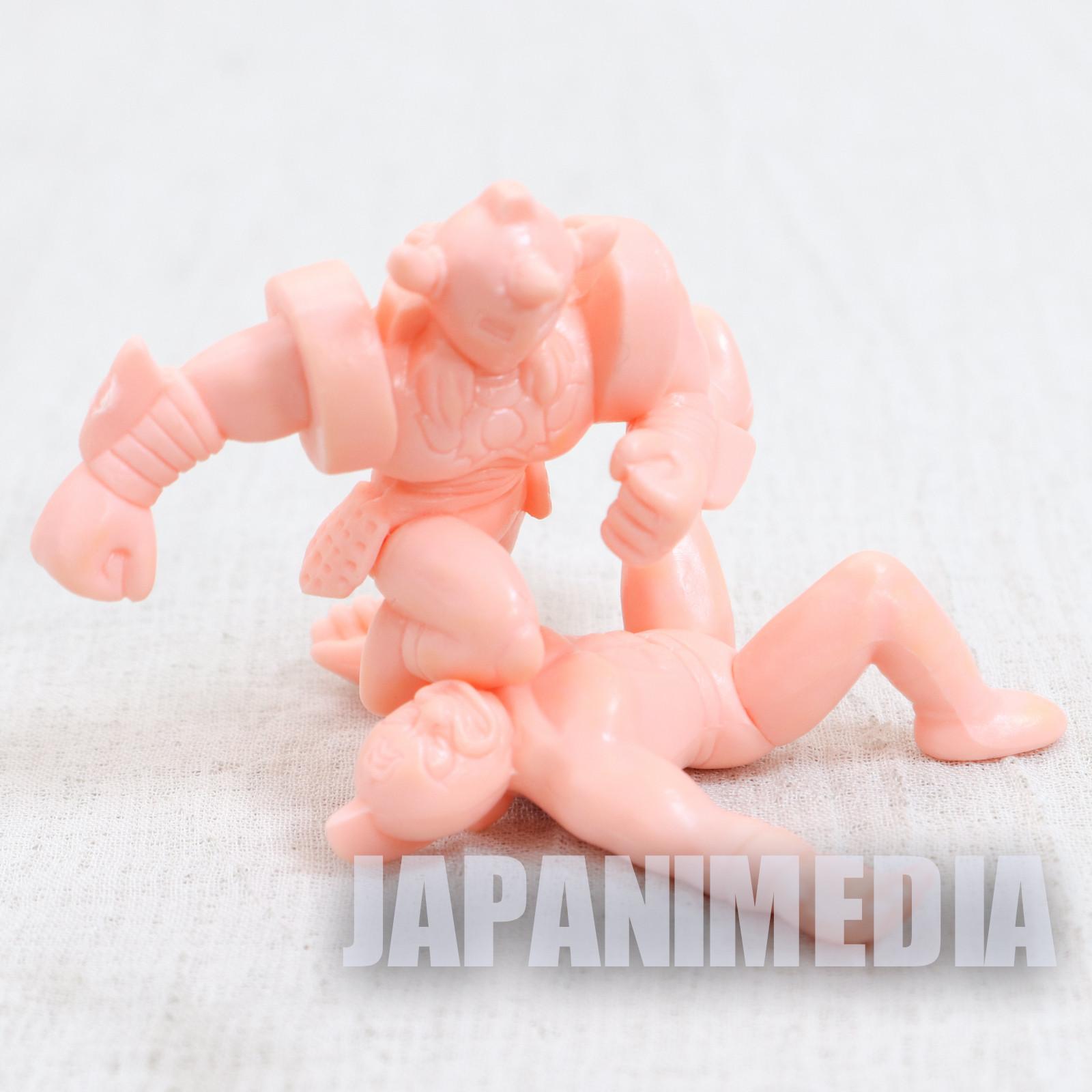 Kinnikuman VS Akuma Shogun Jigoku no Dantoudai Rubber Figure ULTIMATE MUSCLE