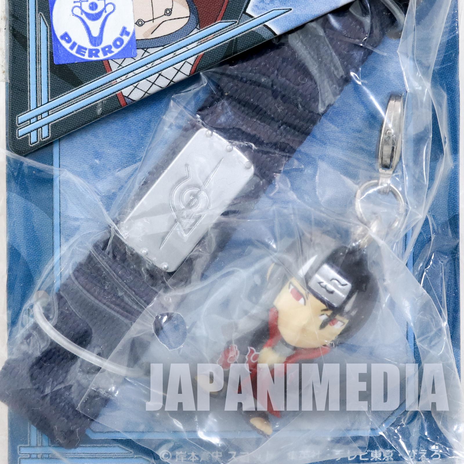 NARUTO Sasuke Uchiha Figure Strap Banpresto JAPAN ANIME MANGA