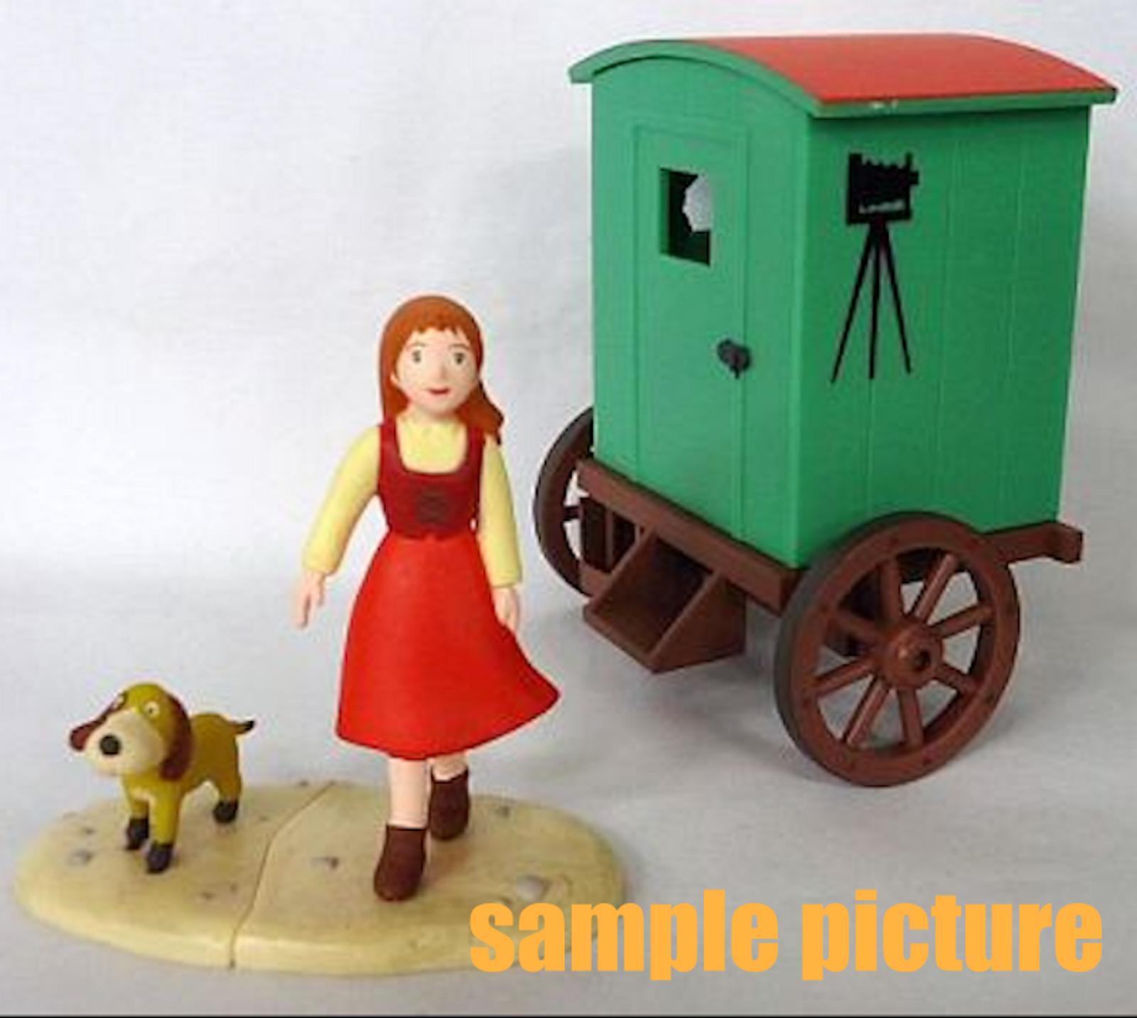 The Story of Perrine Perrine & Baron Mini Figure World Masterpiece JAPAN ANIME