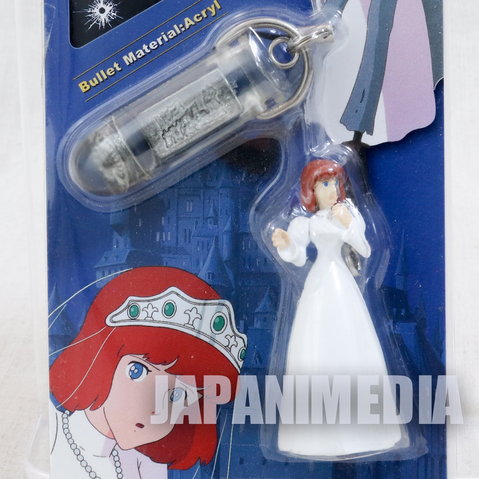 Lupin the Third (3rd) Castle of Cagliostro CLARISE and Bullet Figure Strap