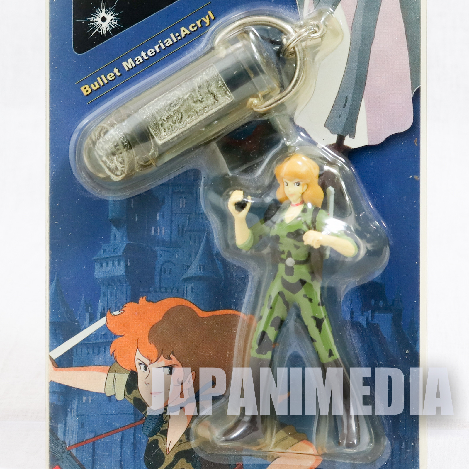 Lupin the Third (3rd) Castle of Cagliostro FUJIKO MINE and Bullet Figure Strap