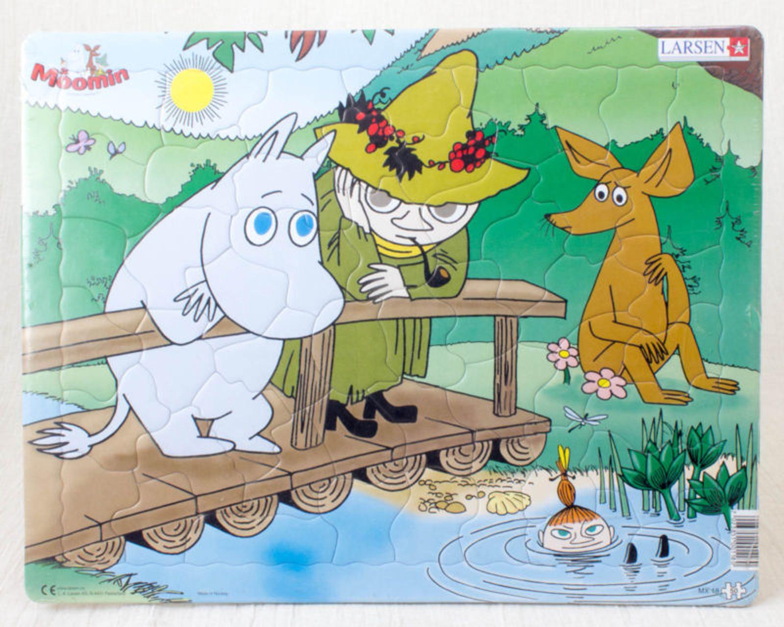 Moomin Puzzle Larsen Snufkin Little my Sniff Tove Jansson