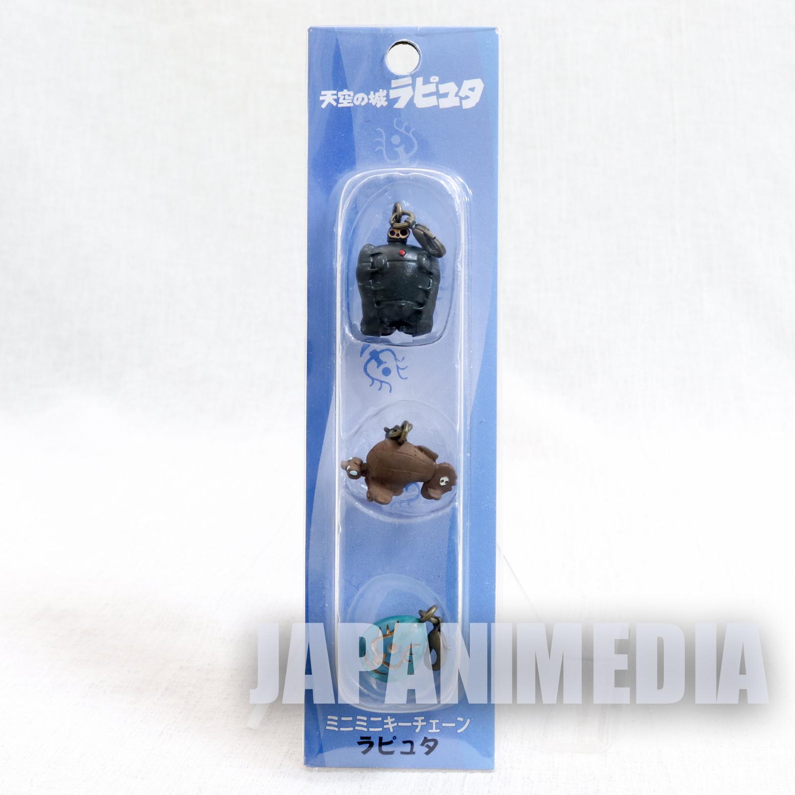 Laputa : Castle in the Sky Mascot 3pc Set Ghibli JAPAN ANIME