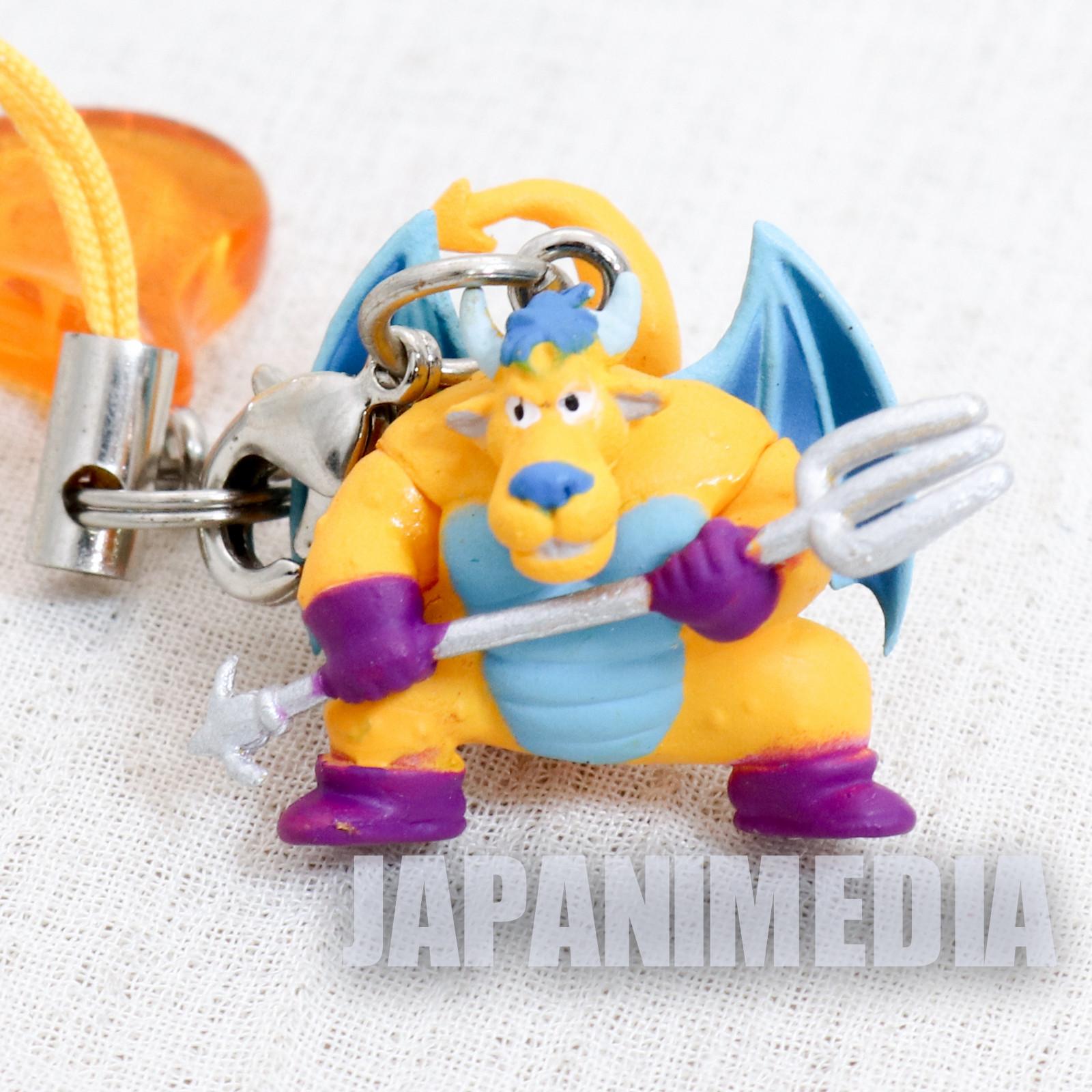 Dragon Quest Belial Petit Figure Strap JAPAN GAME WARRIOR