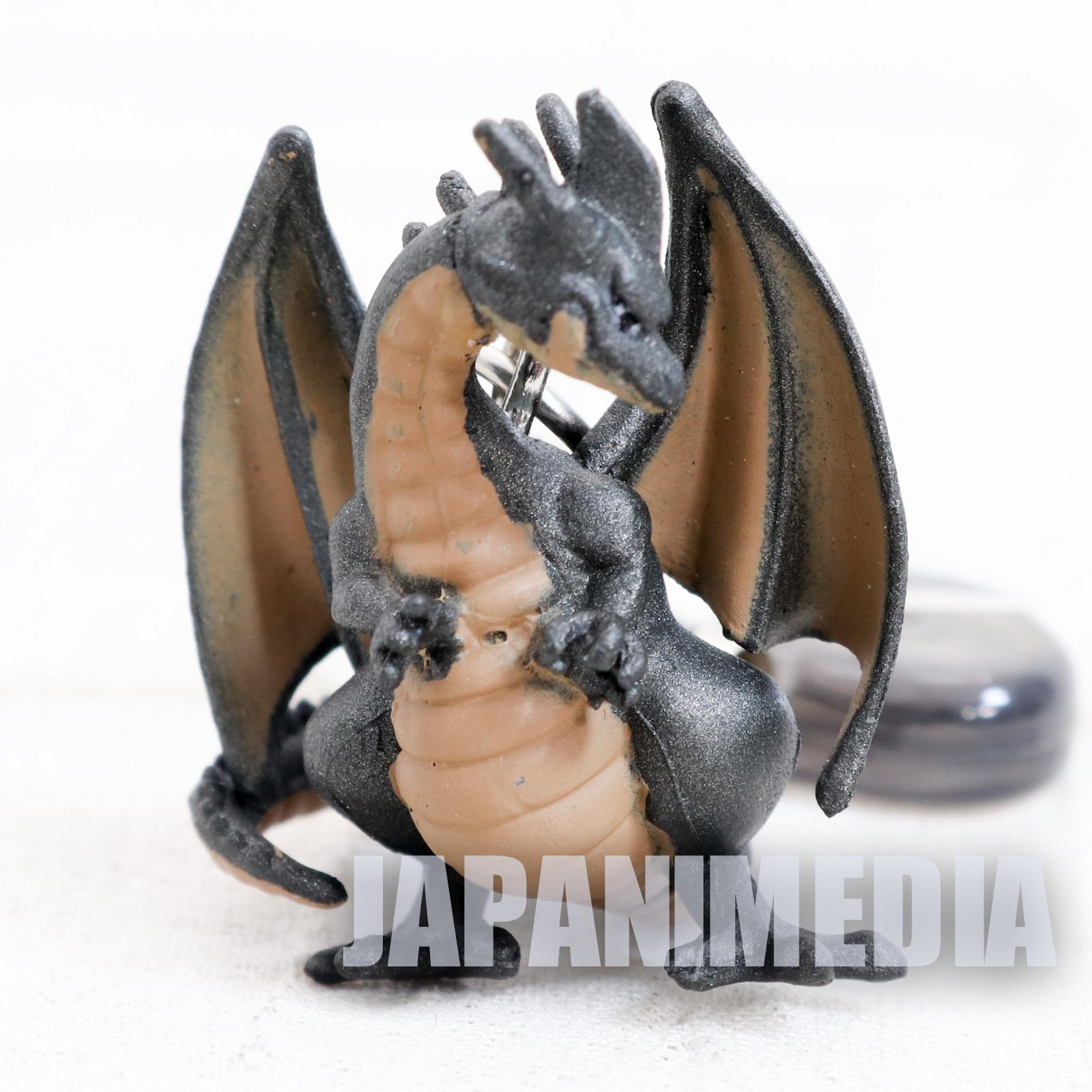 Dragon Quest Black Dragon Petit Figure Strap JAPAN GAME WARRIOR