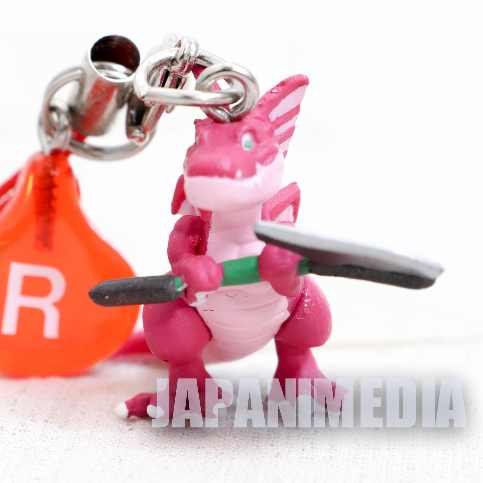 Dragon Quest Axesaurus Petit Figure Strap JAPAN GAME WARRIOR