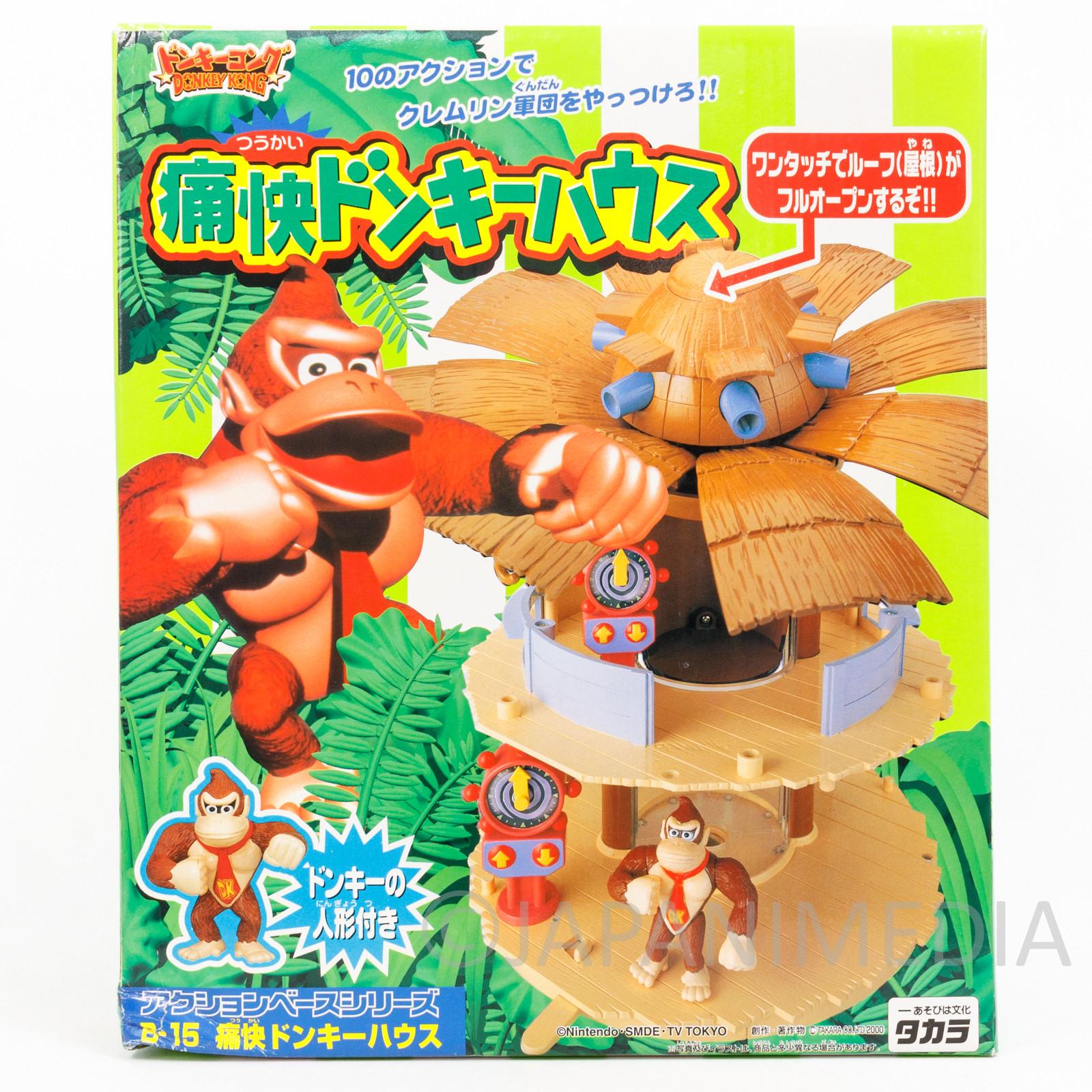 Donkey Kong Tsu-Kai Donkey House Figure TAKARA JAPAN NINTENDO