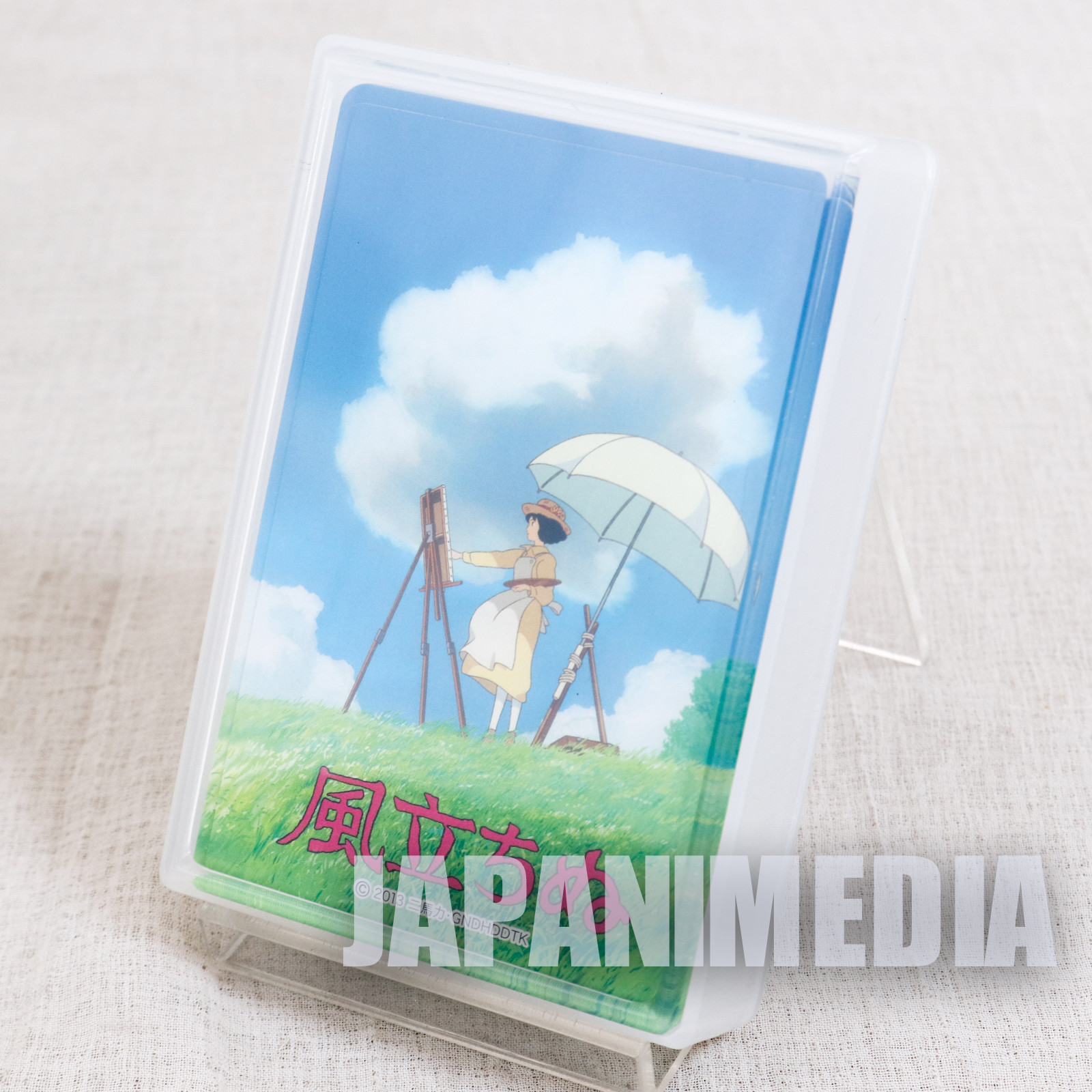 Wind Rises Trump Playing Cards Ghibli JAPAN ANIME