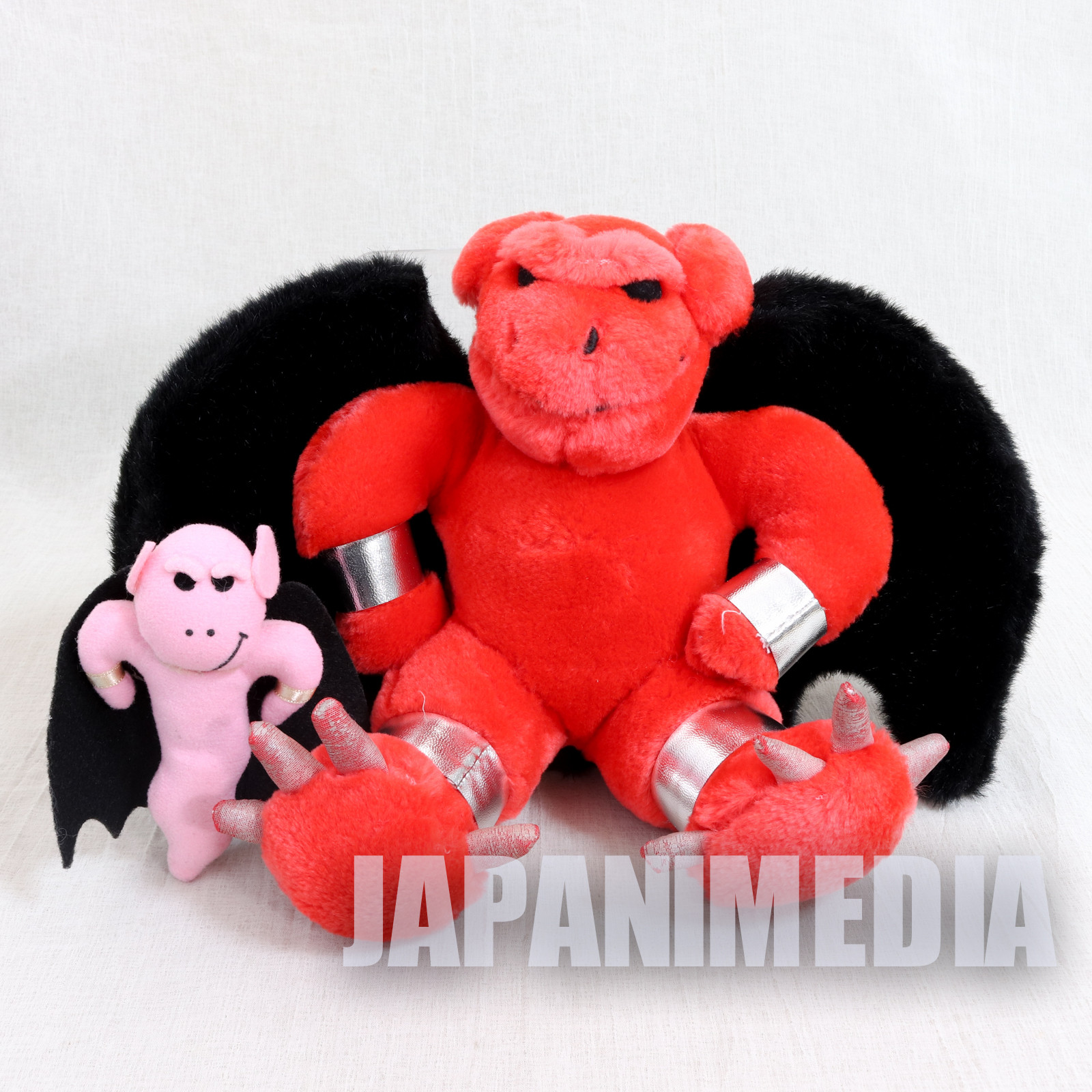 RARE! Ghosts'n Goblins Red Arremer Plush Doll set Makaimura JAPAN GAME FAMICOM