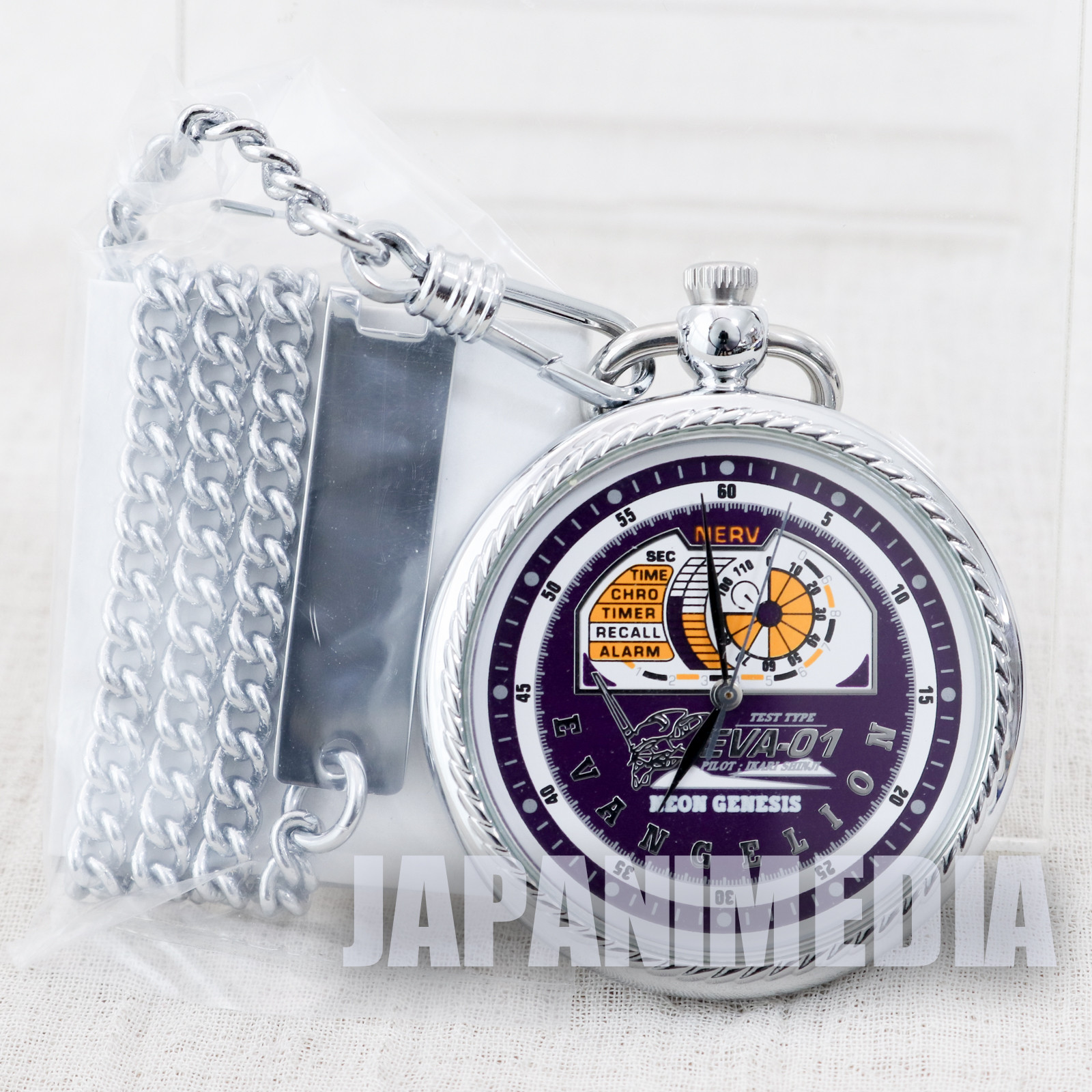 Evangelion Pocket Watch EVA-01 ver. Movic JAPAN ANIME