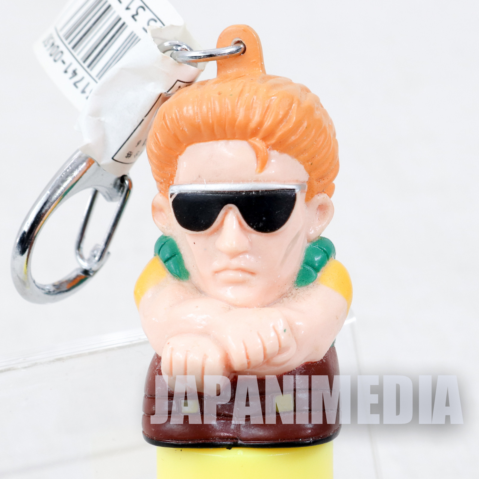 Art of Fighting John Crawley Figure Key Holder KeyChain SEGA 1994 SNK JAPAN KOF