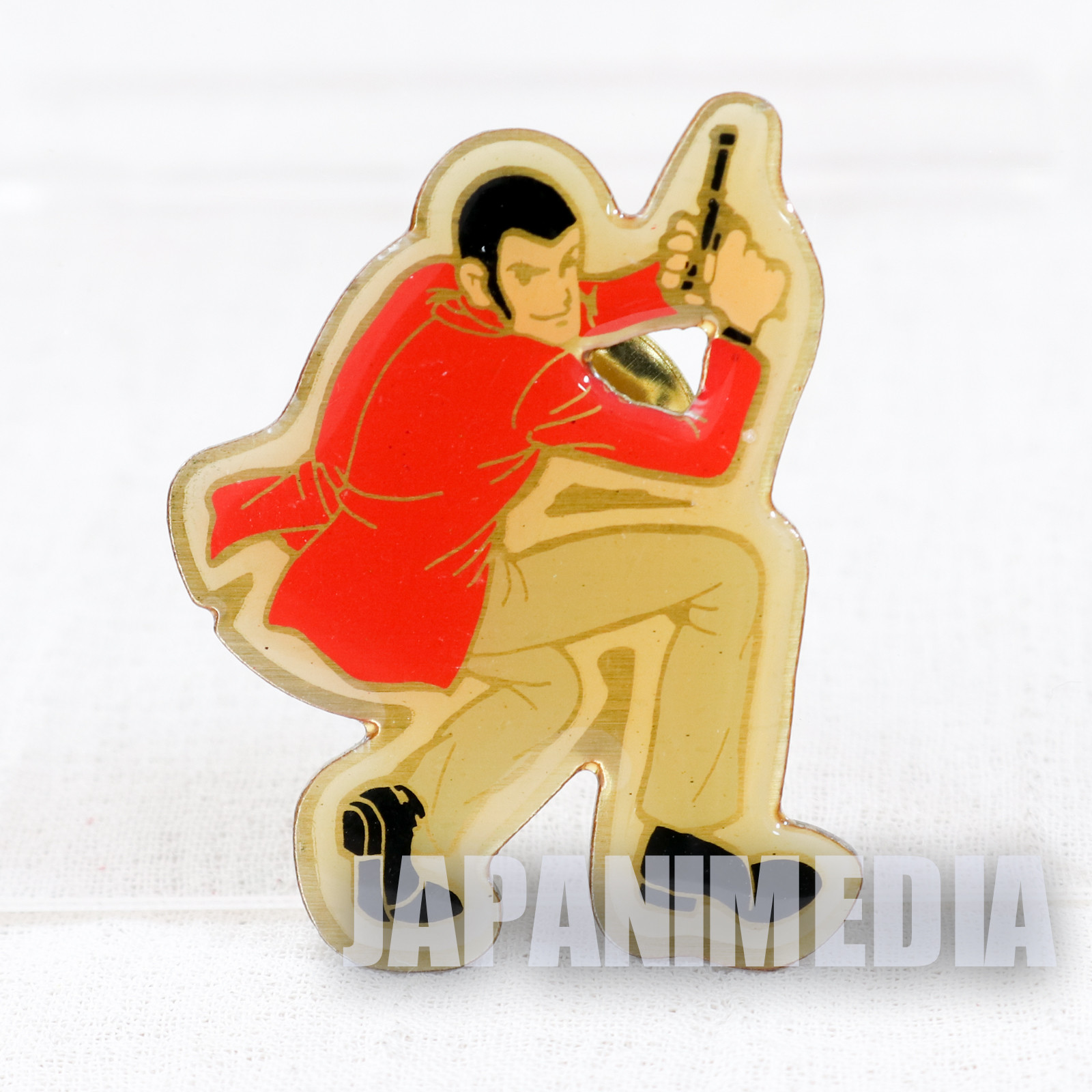 Lupin the Third (3rd) Metal Pins #1 JAPAN ANIME