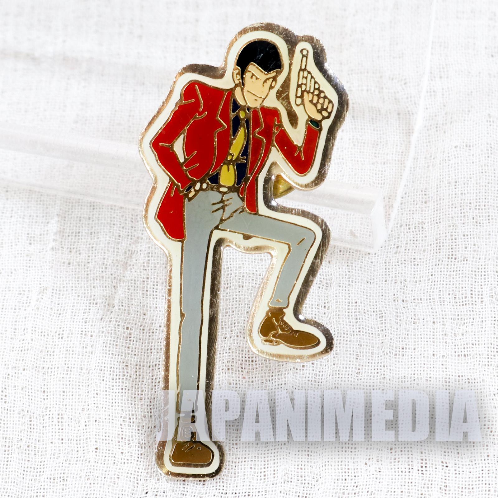 Lupin the Third (3rd) Metal Pins #2 JAPAN ANIME