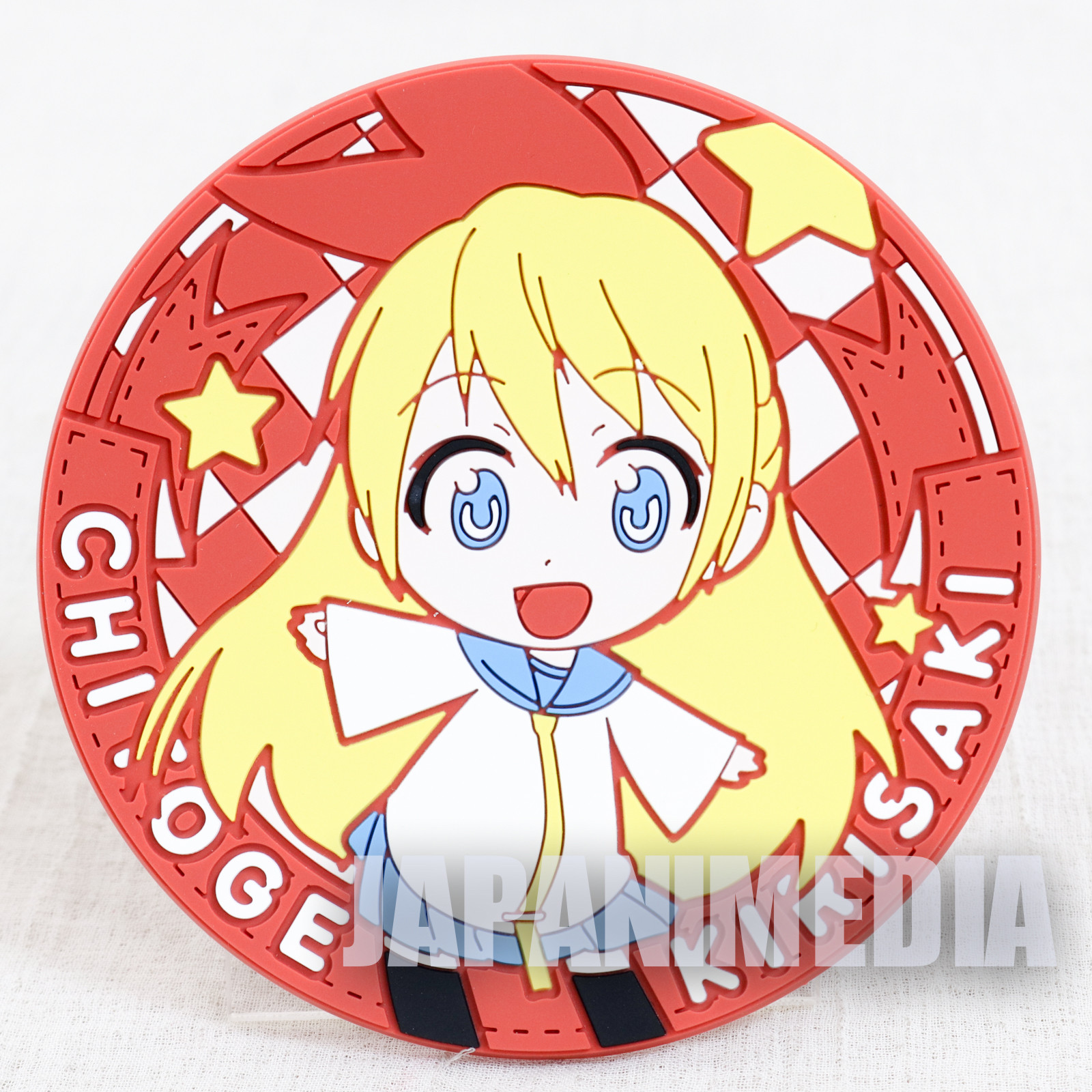 RARE! Nisekoi Rubber Coaster Chitoge Kirisaki JAPAN ANIME