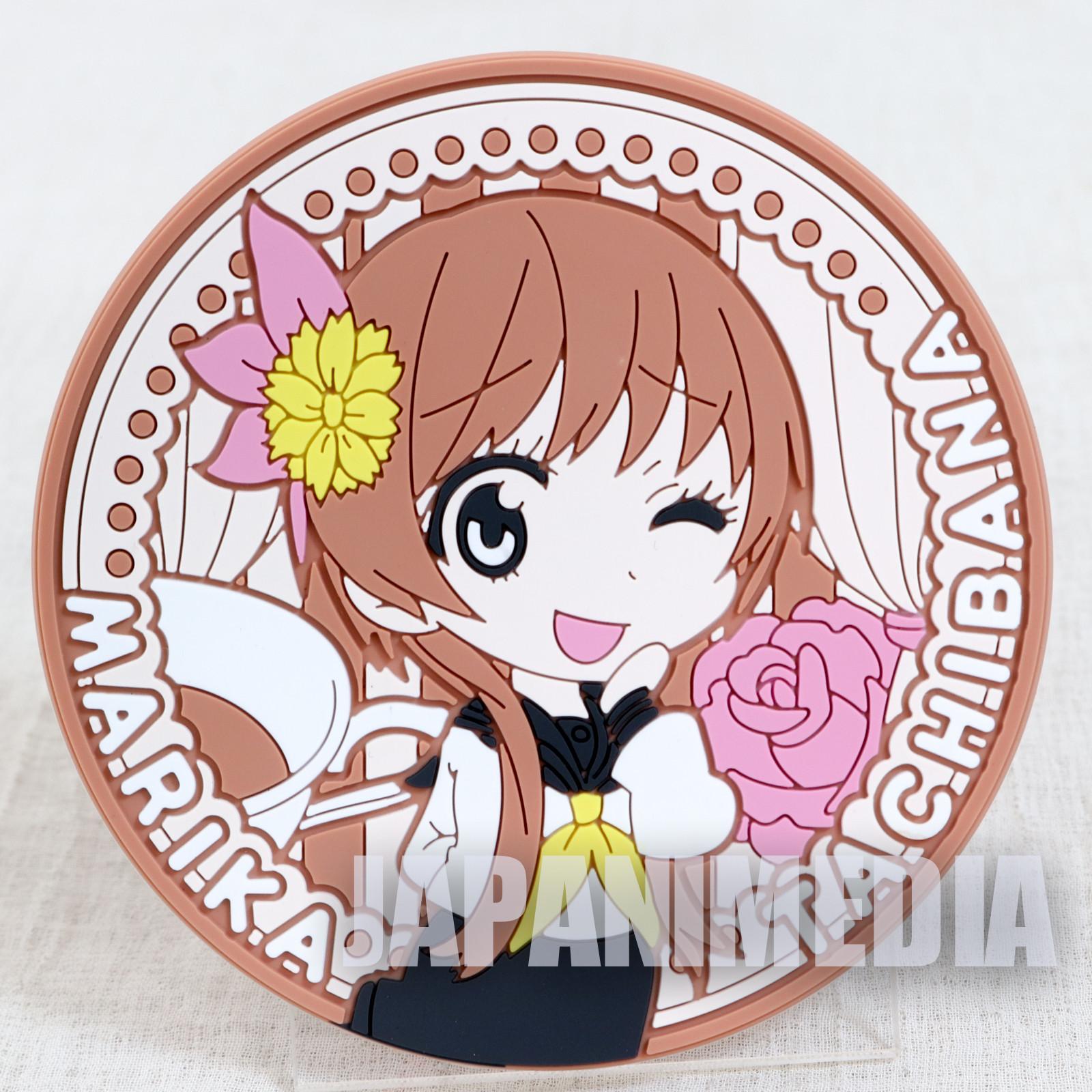 RARE! Nisekoi Rubber Coaster Marika Tachibana JAPAN ANIME