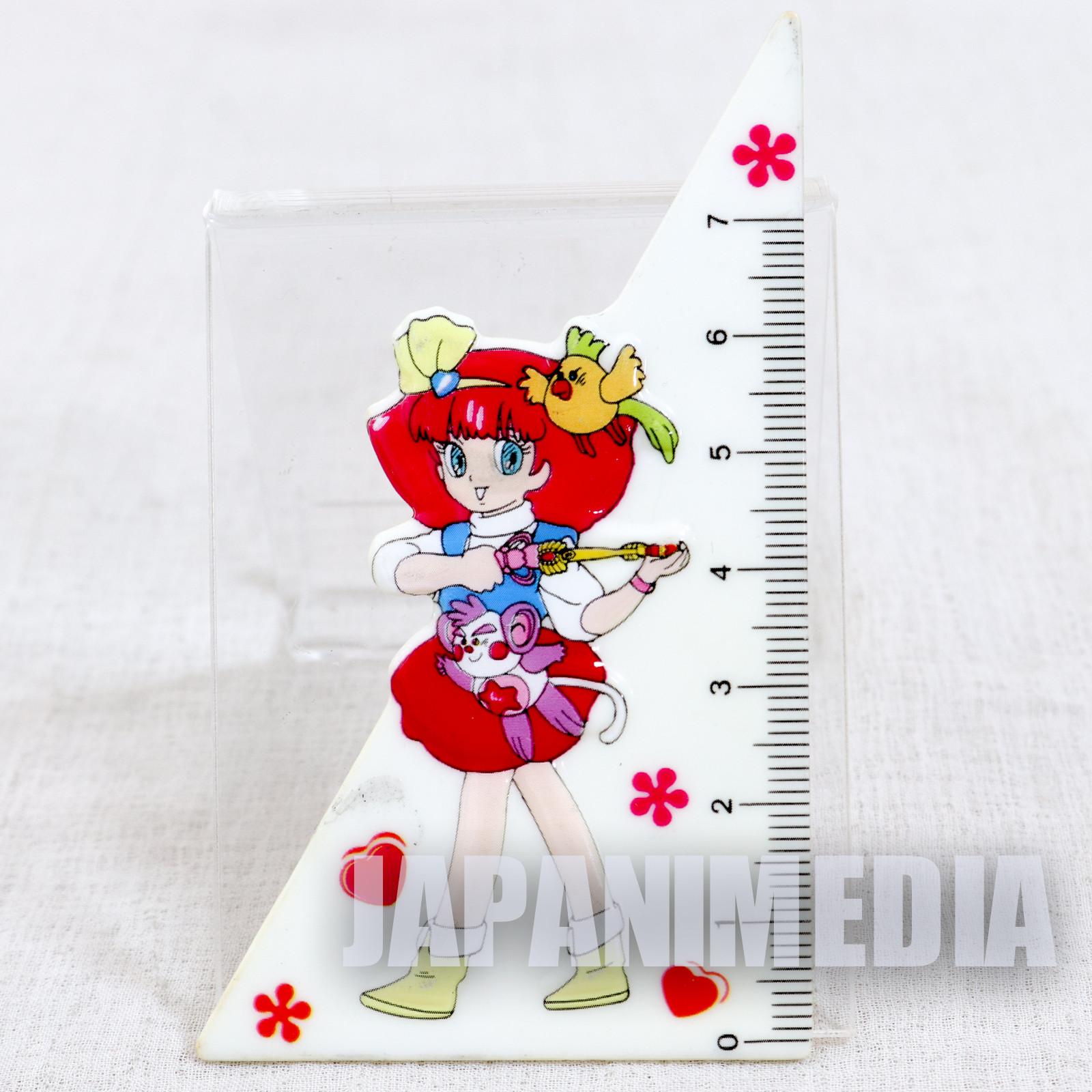 Retro Magical Princess Minky Momo 7cm Set Square Triangle JAPAN ANIME
