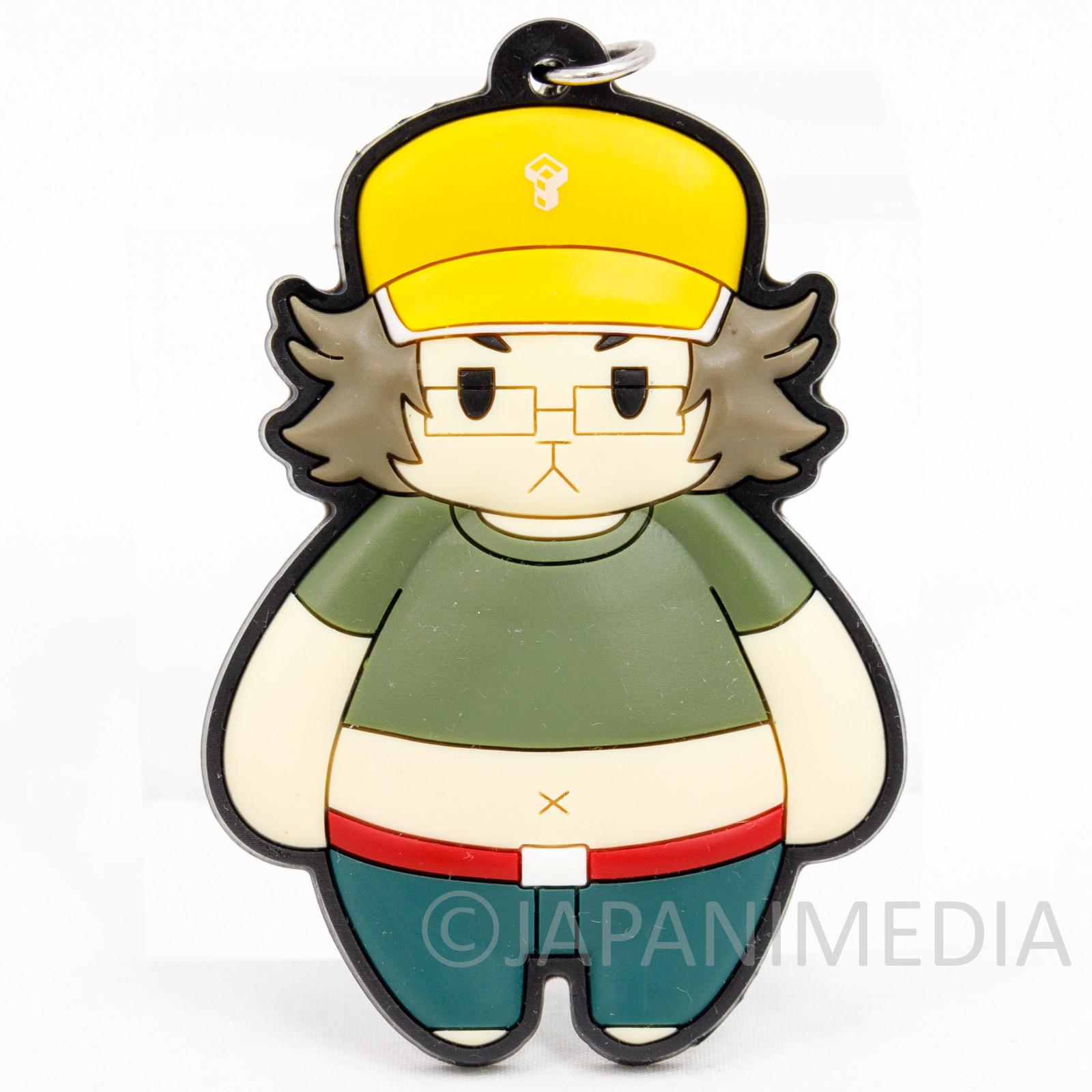 Steins ; Gate Daru Itaru Hashida Mascot Rubber Strap JAPAN ANIME 2