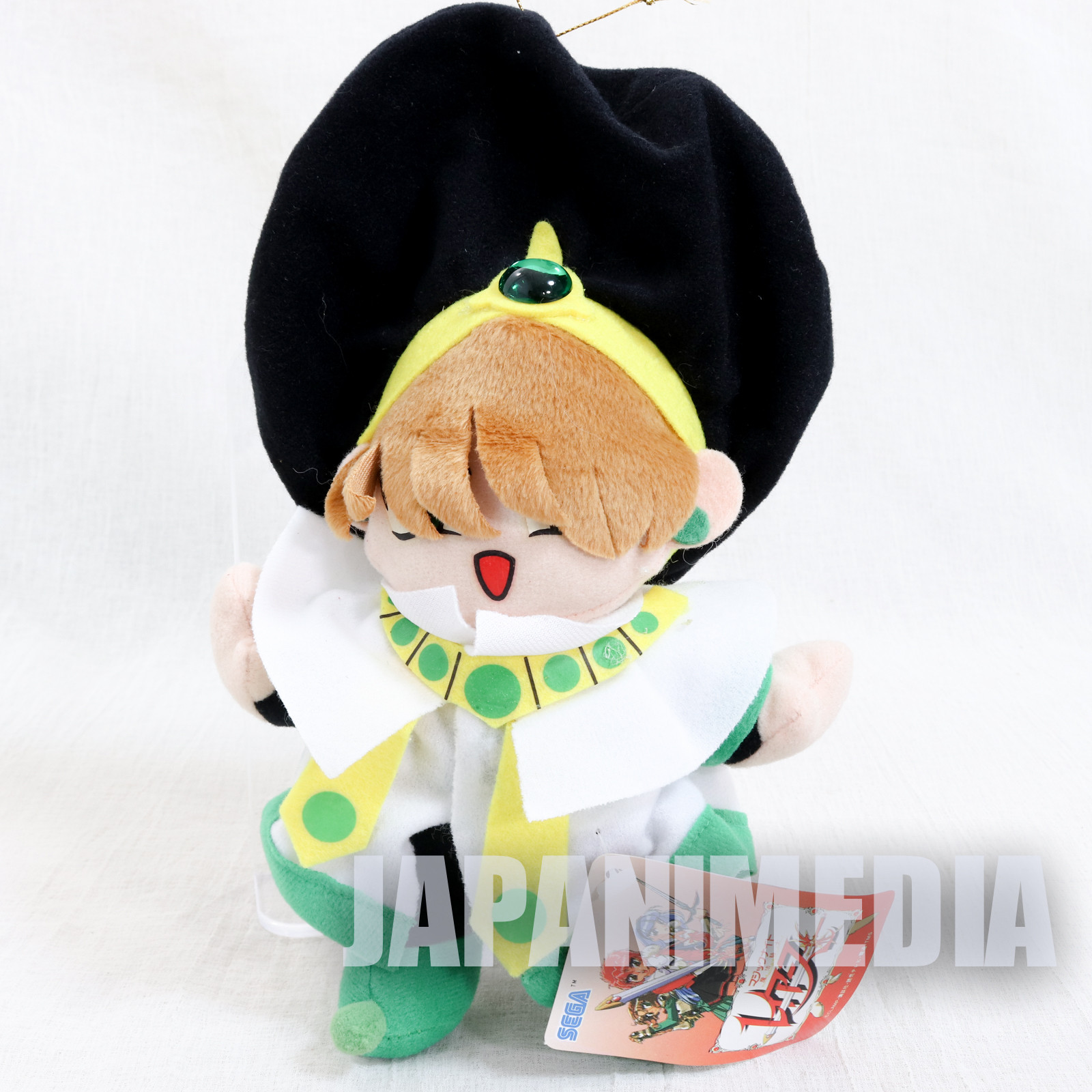 Retro Magic Knight Rayearth Ascot Plush Doll SEGA CLAMP JAPAN