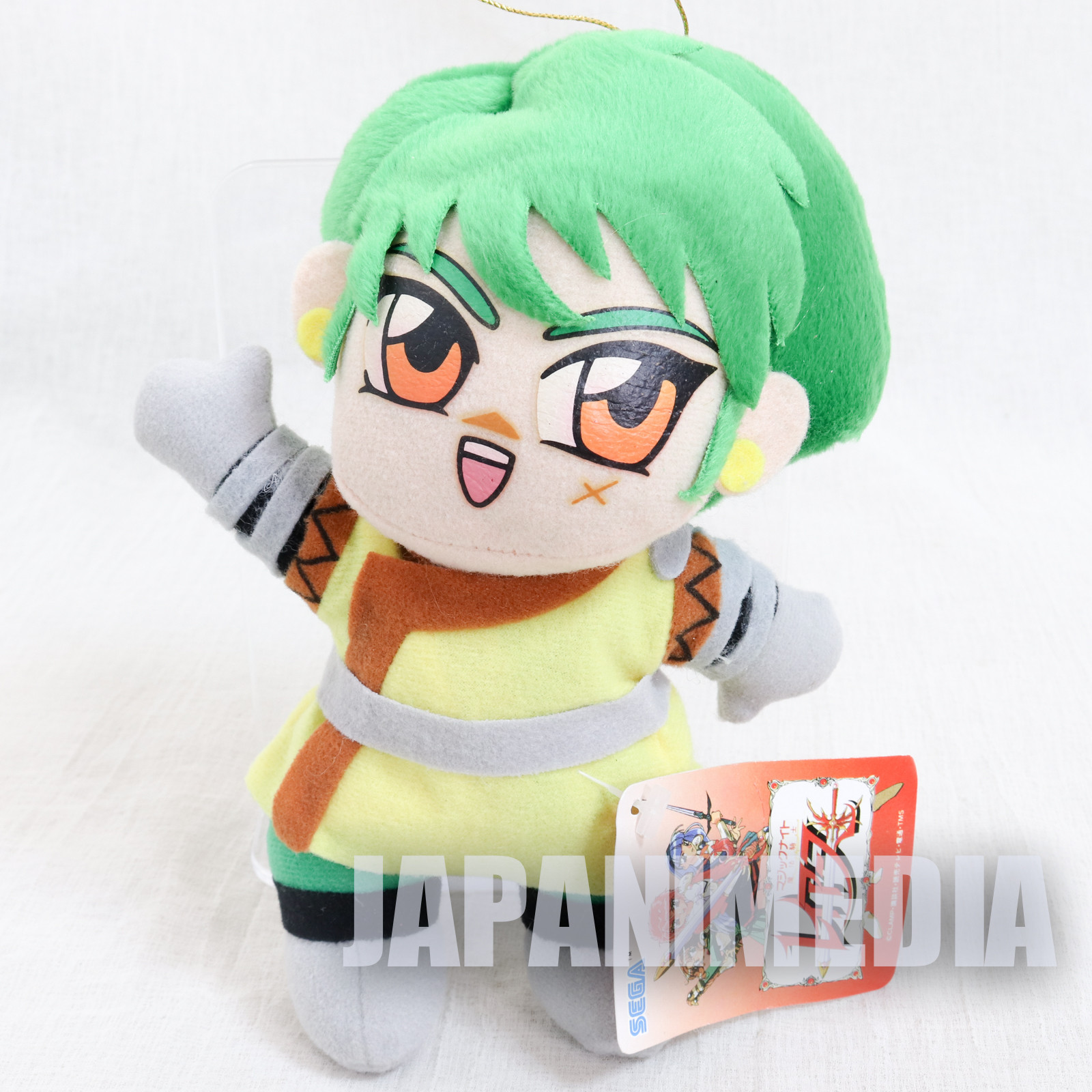 Retro Magic Knight Rayearth Ferio Plush Doll SEGA CLAMP JAPAN