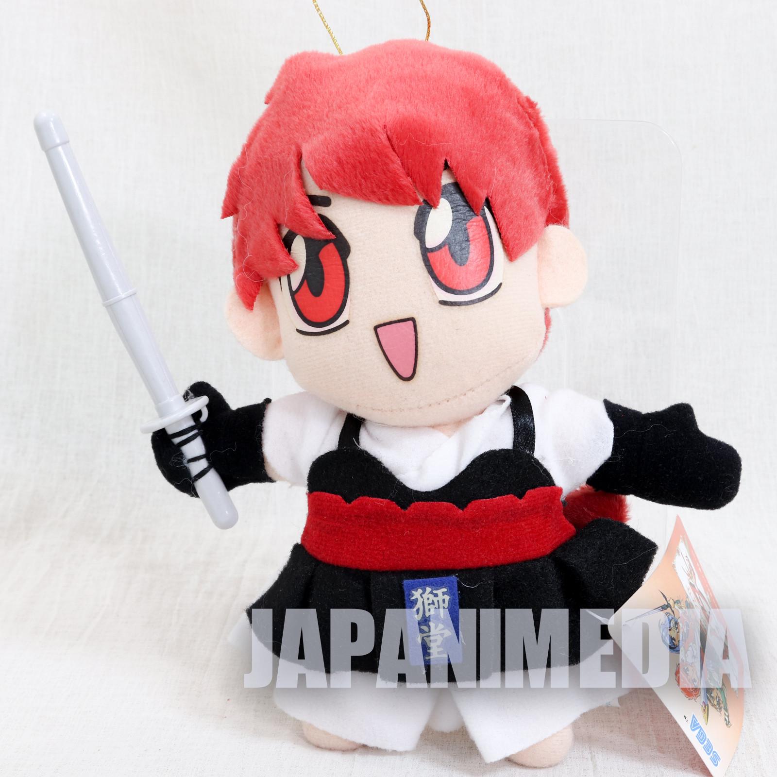 Retro Magic Knight Rayearth Hikaru Shidou Kendo Plush Doll SEGA CLAMP JAPAN