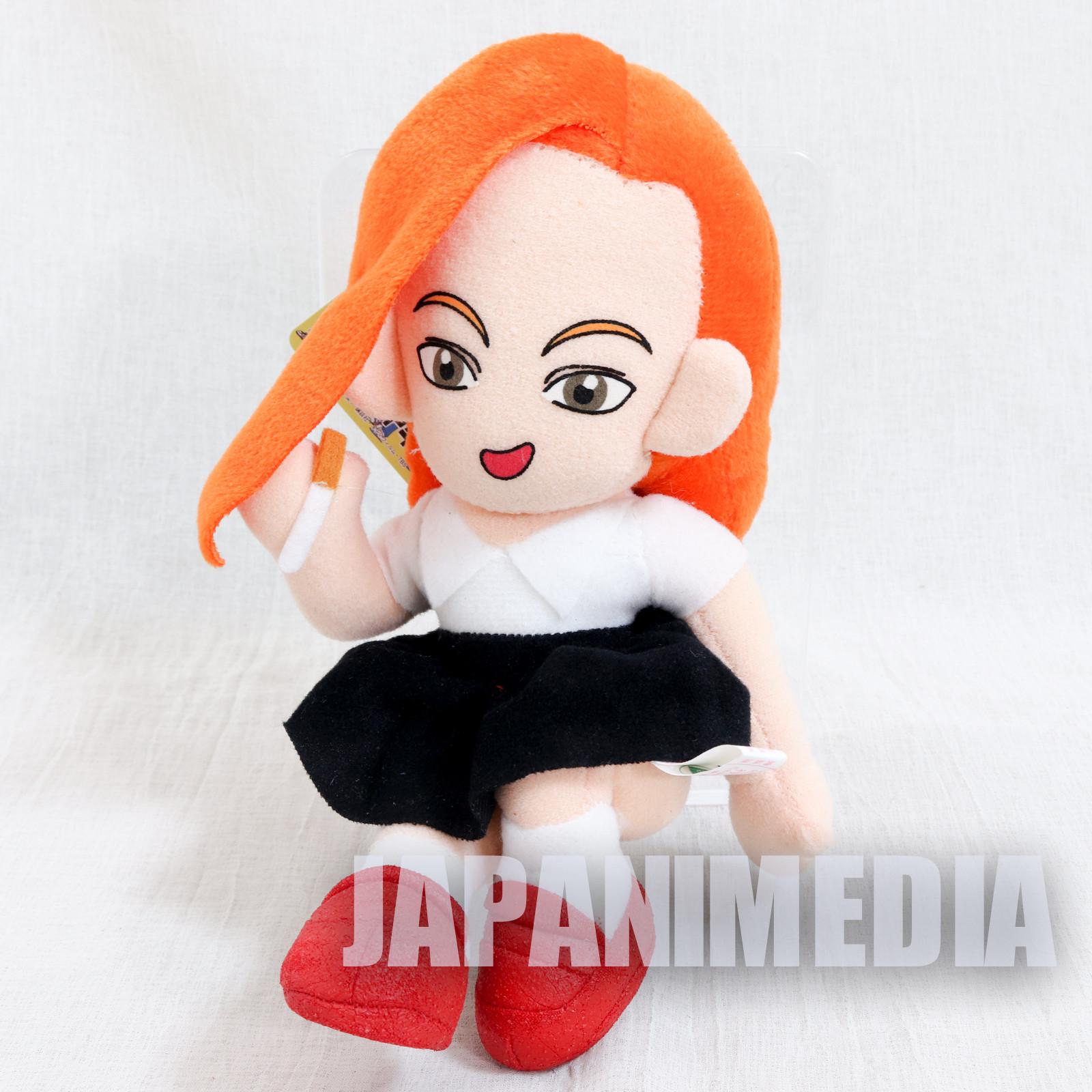 Ike! Inachuu Takkyuubu Ping Pong Club Kyoko Iwashita Plush Doll JAPAN
