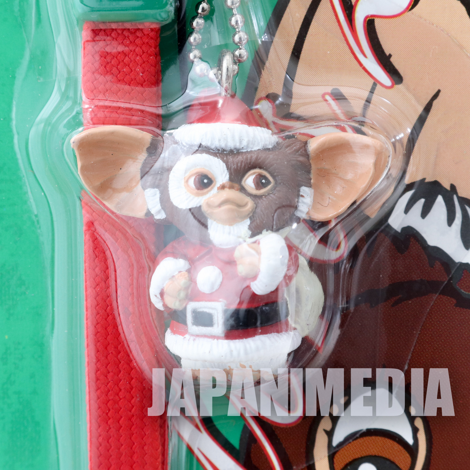 Gremlins 2 The New Batch Gizmo Santa Figure Mobile Strap Jun Planning JAPAN