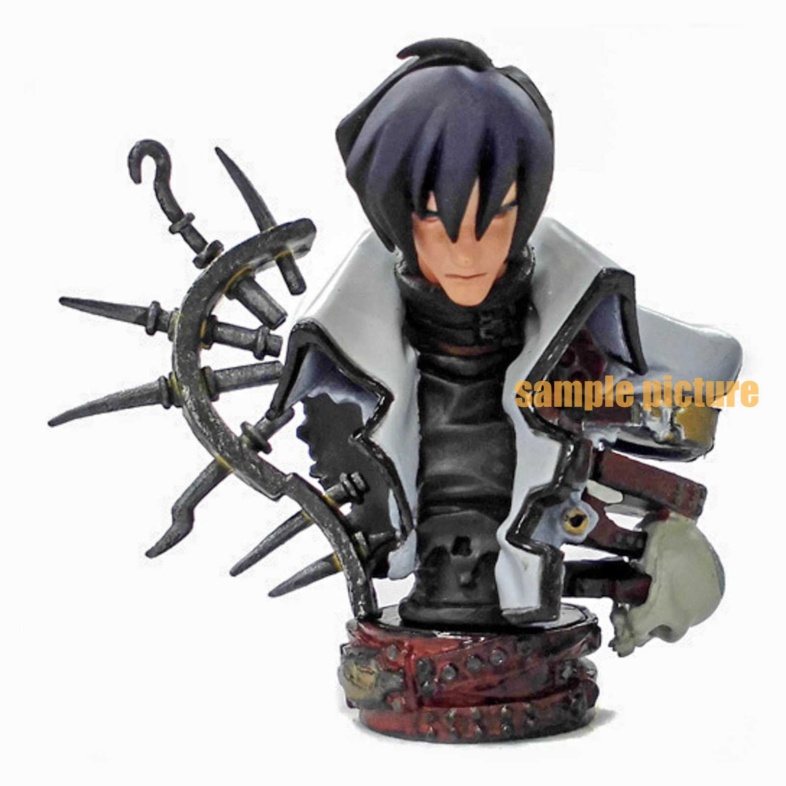 TRIGUN Legato Bluesummers K & M Bustup Model Series Figure Kaiyodo JAPAN ANIME