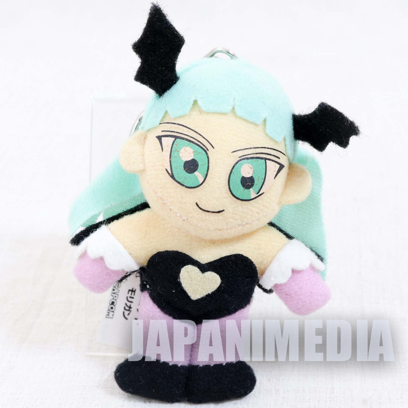 Darkstalkers (Vampire) Morrigan Small Plush Doll Keychain JAPAN HUNTER SAVIOR