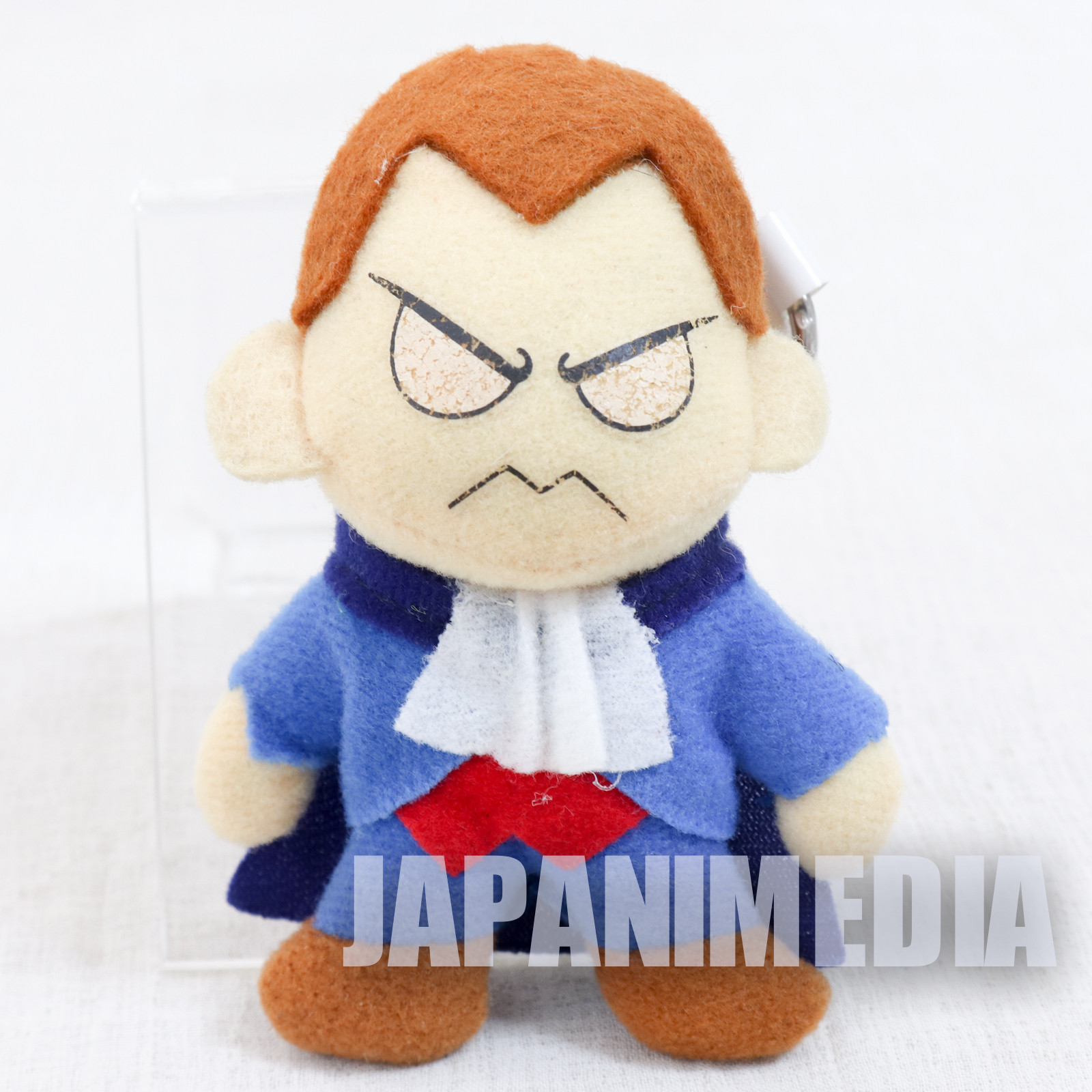 Darkstalkers (Vampire) Demitri Small Plush Doll Keychain JAPAN HUNTER SAVIOR
